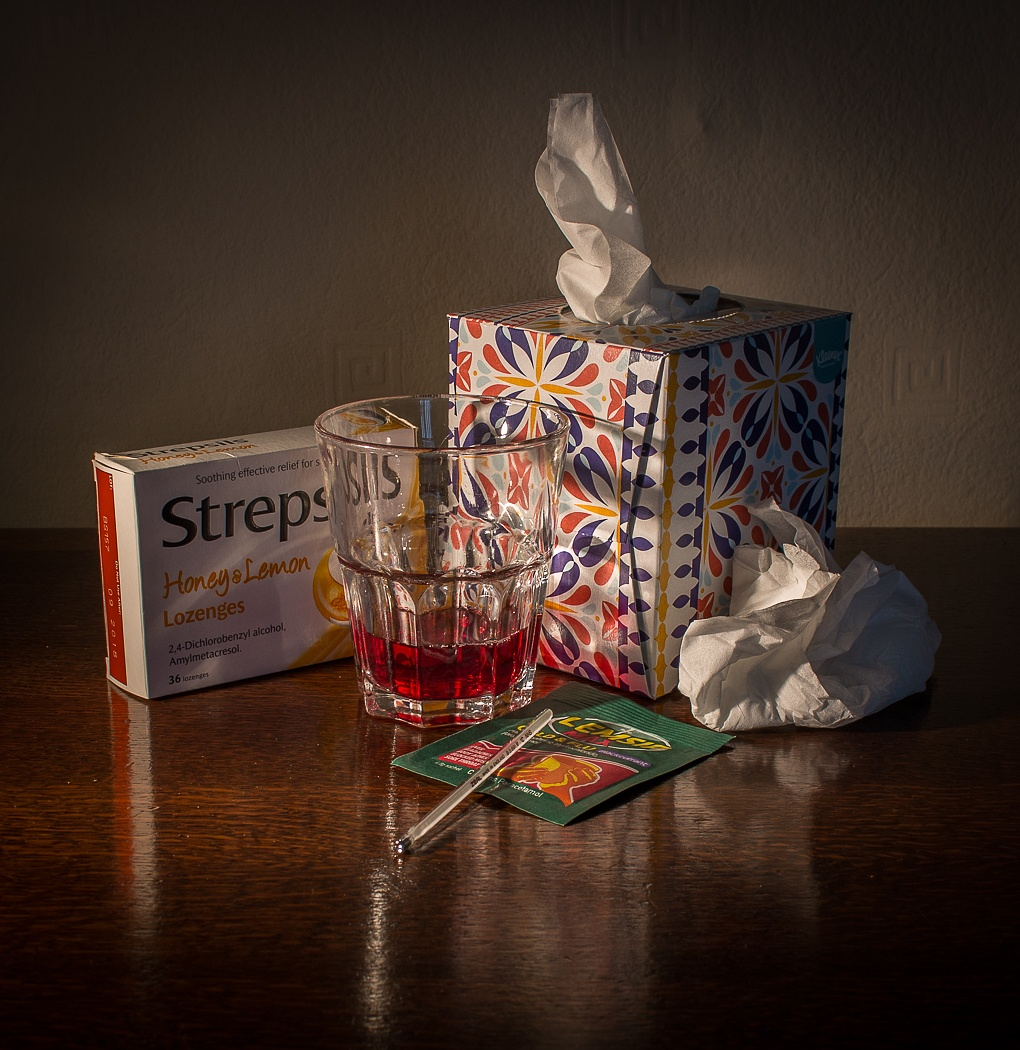 Photo in Still Life #still life #man flu