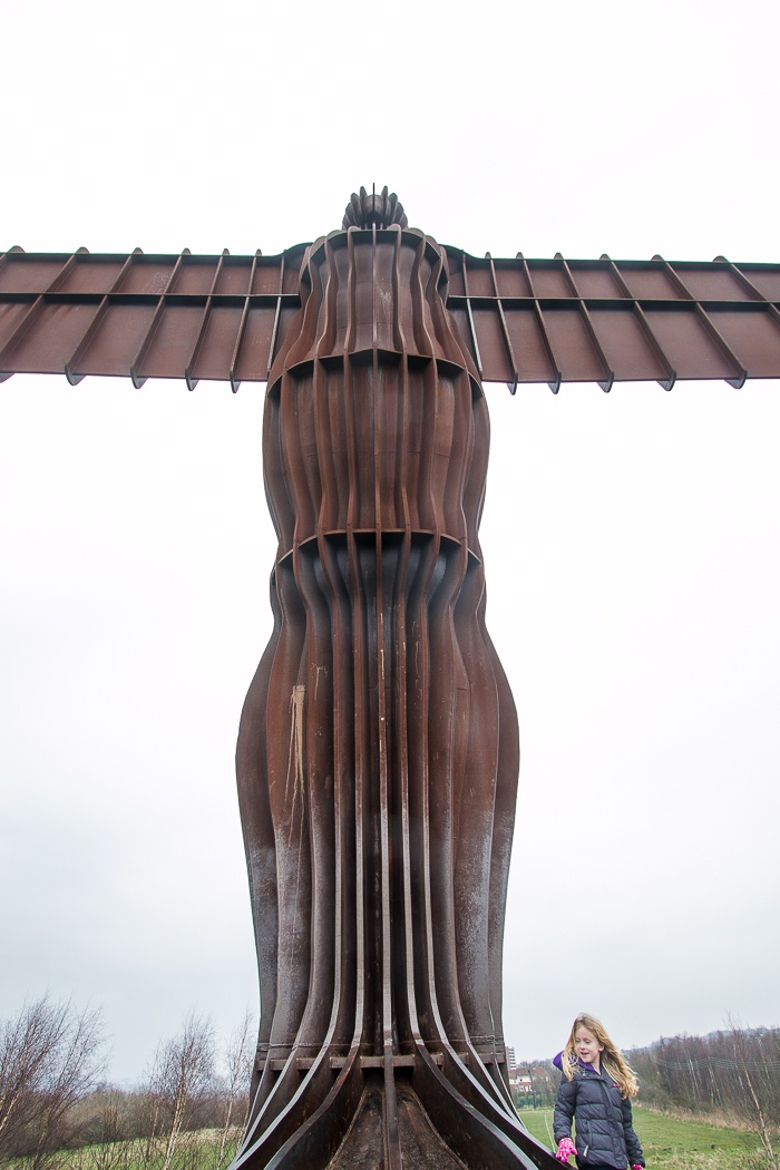 Angel of the North Up Close by Chris Wood
