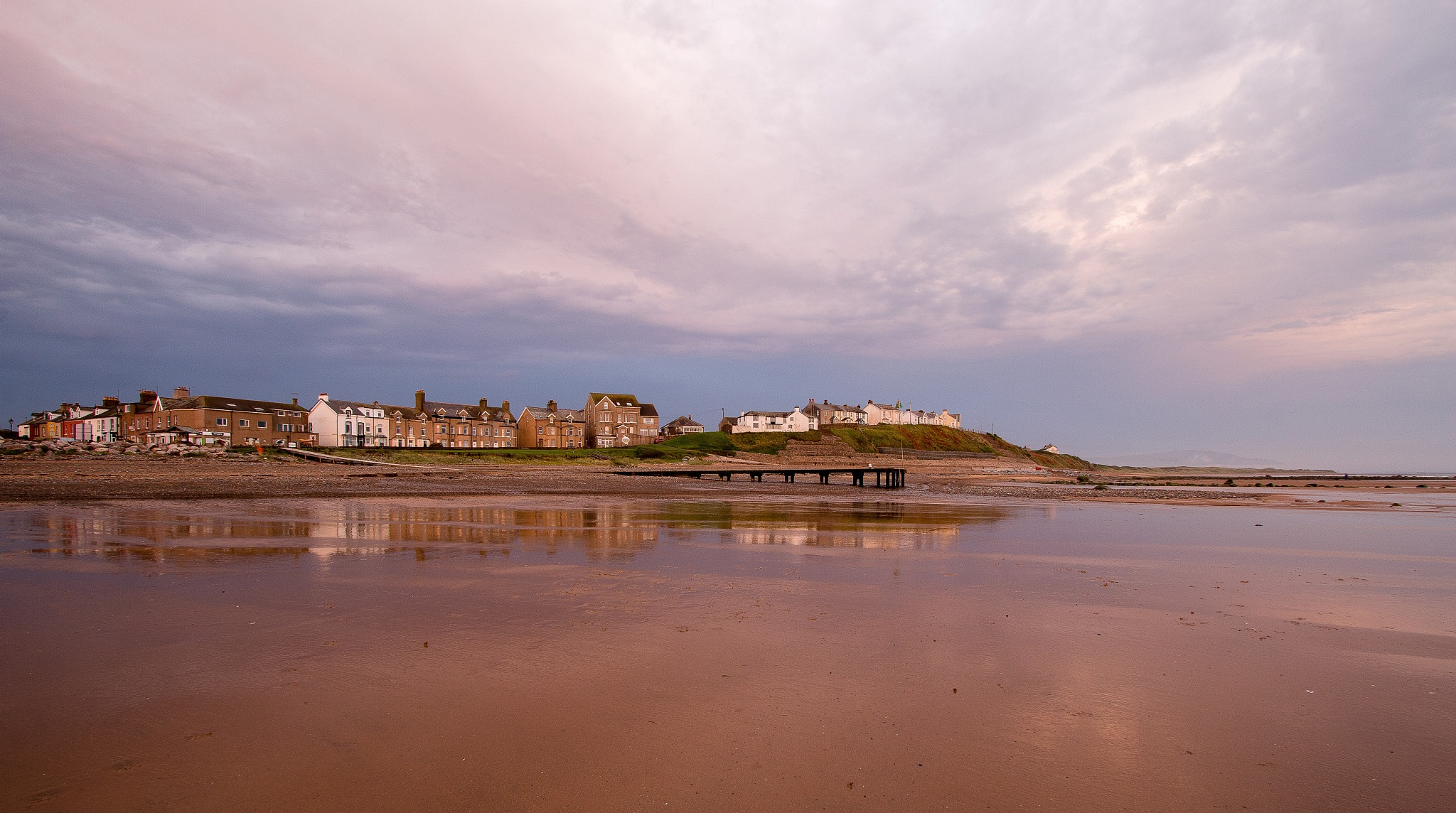 Moody Sky over Seascale by Chris Wood