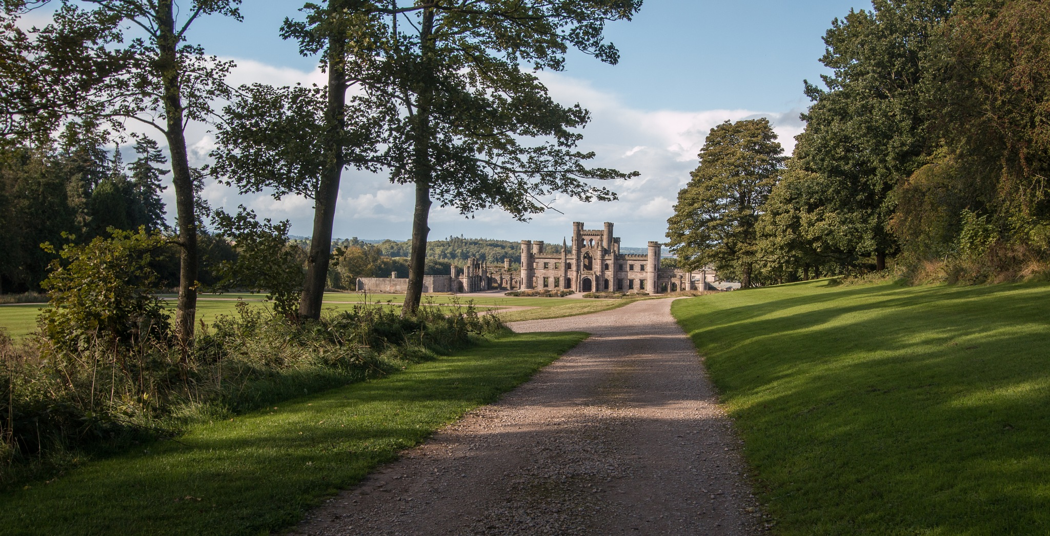 Lowther Castle by Chris Wood
