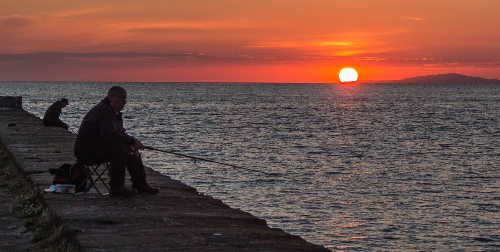 Suset Fishermen by Chris Wood
