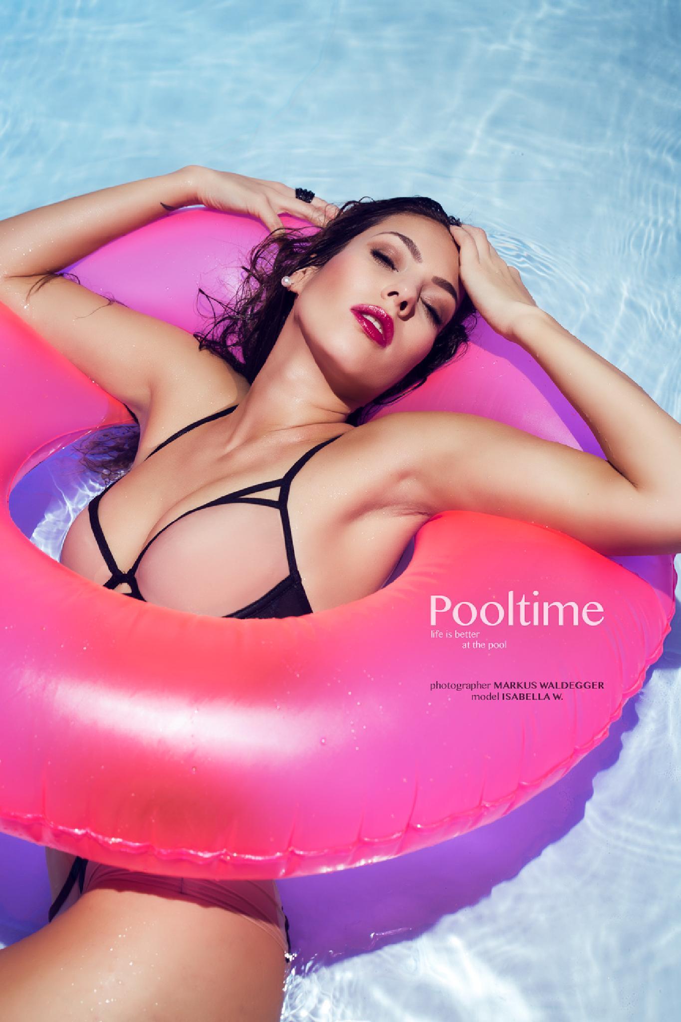 Pooltime by Markus Waldegger