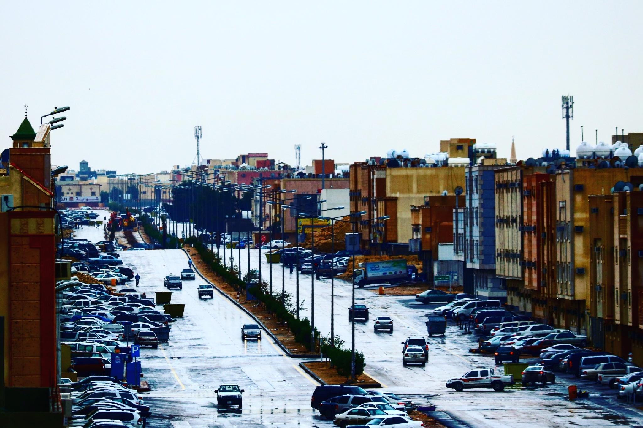 الامطار فى الرياض by SeDeg IsAam