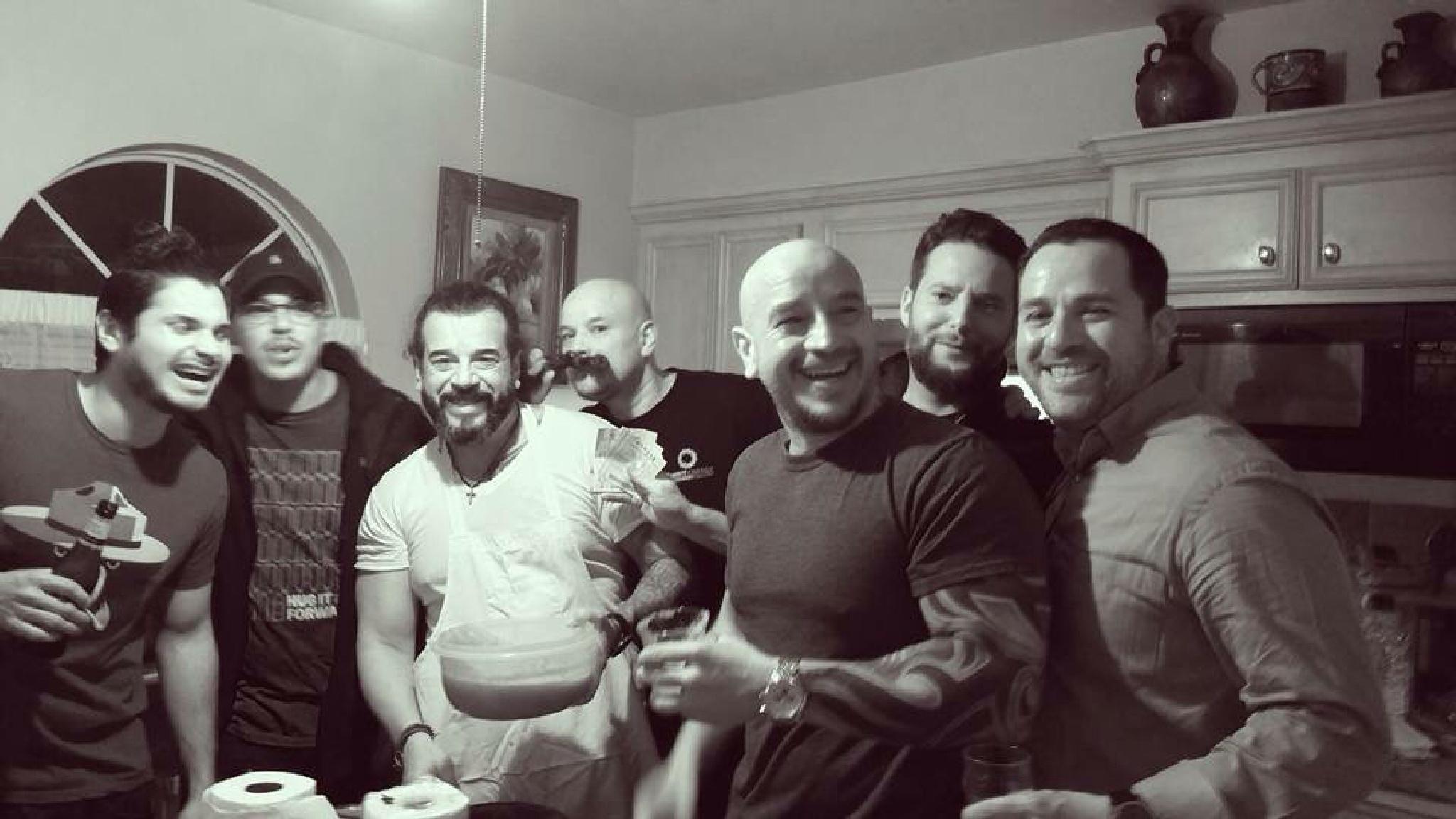 Feeding the boys by Frank Chapa