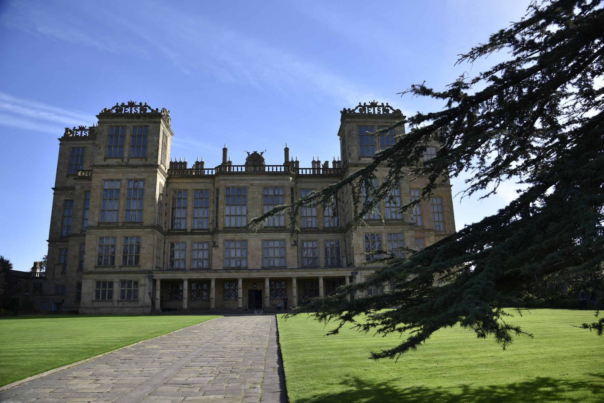Hardwick Hall by John Cater