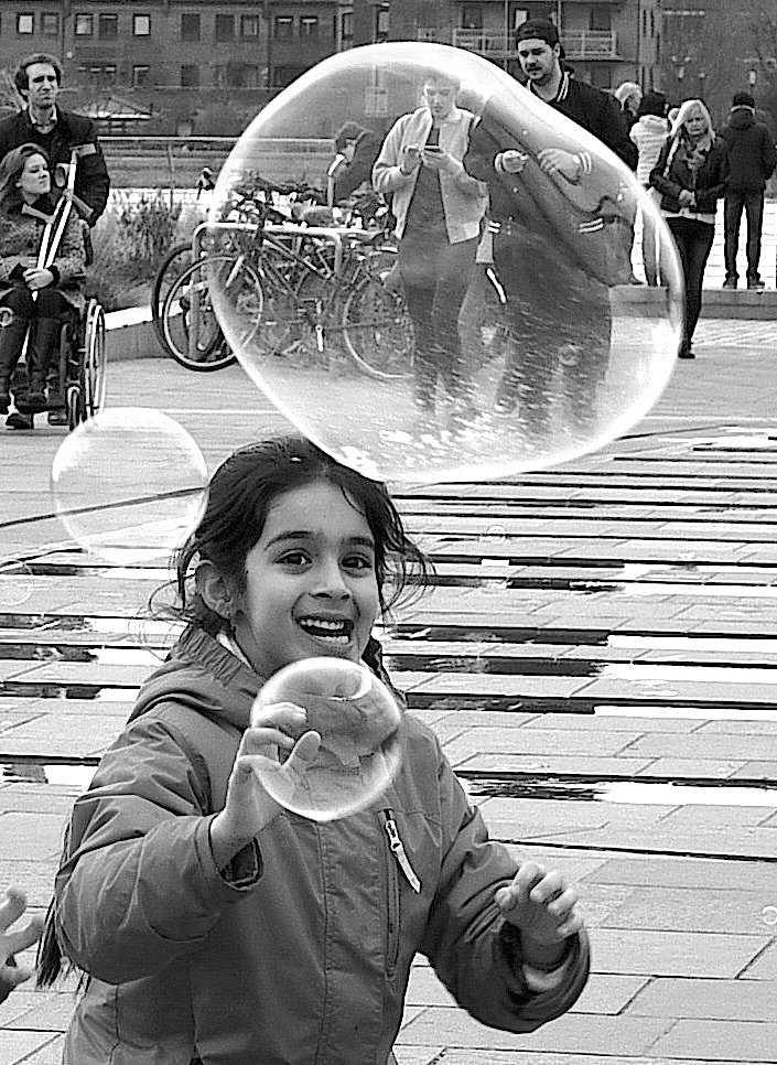 Bubbles. by John Cater