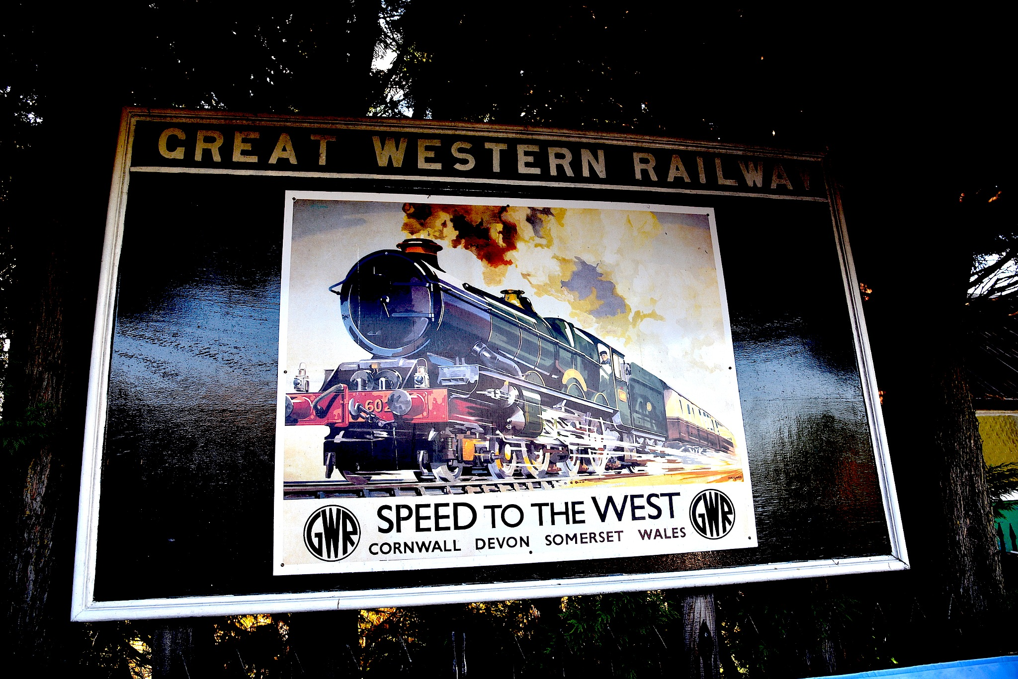 GWR Poster. by John Cater