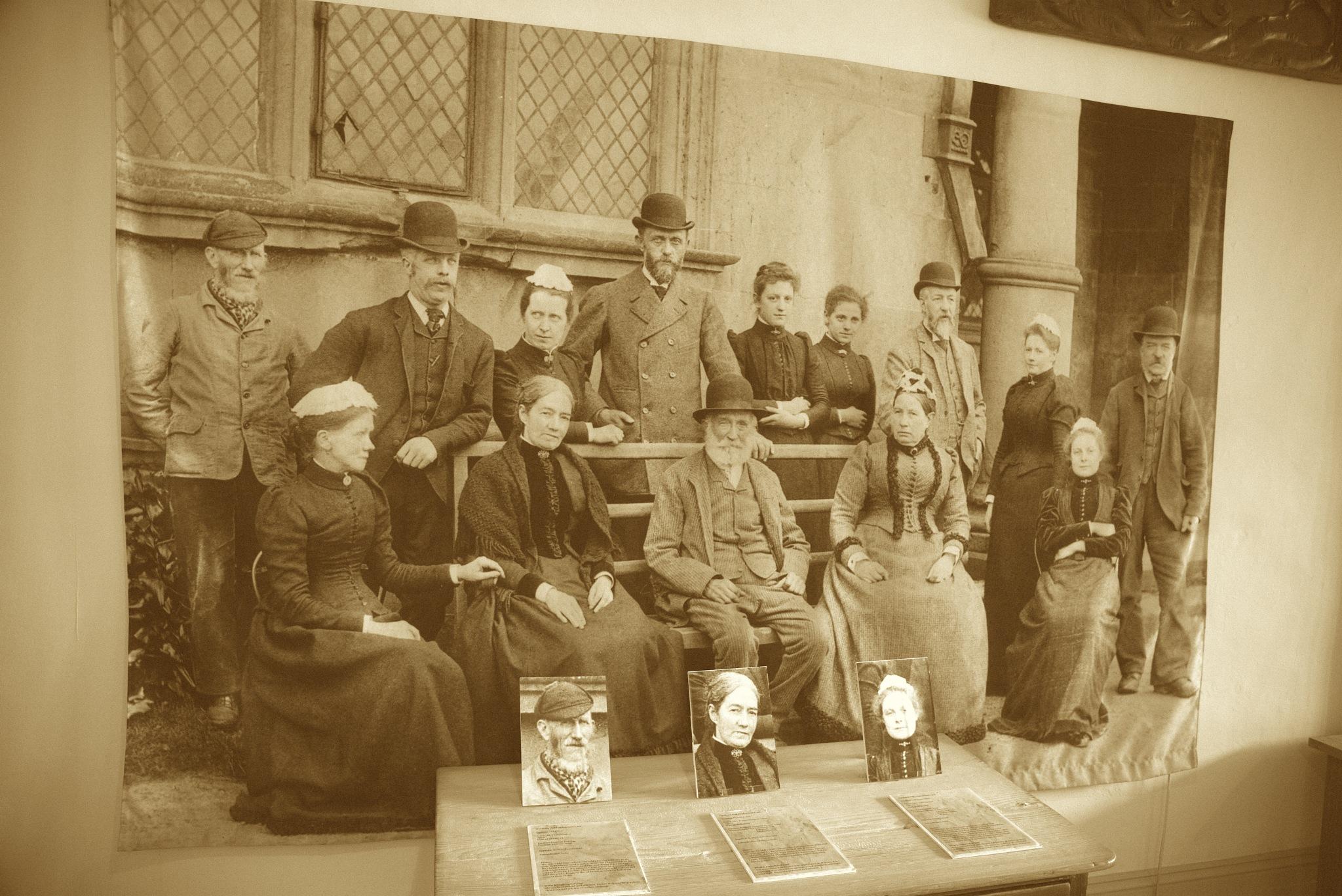 Hardwick Castle Staff. by John Cater
