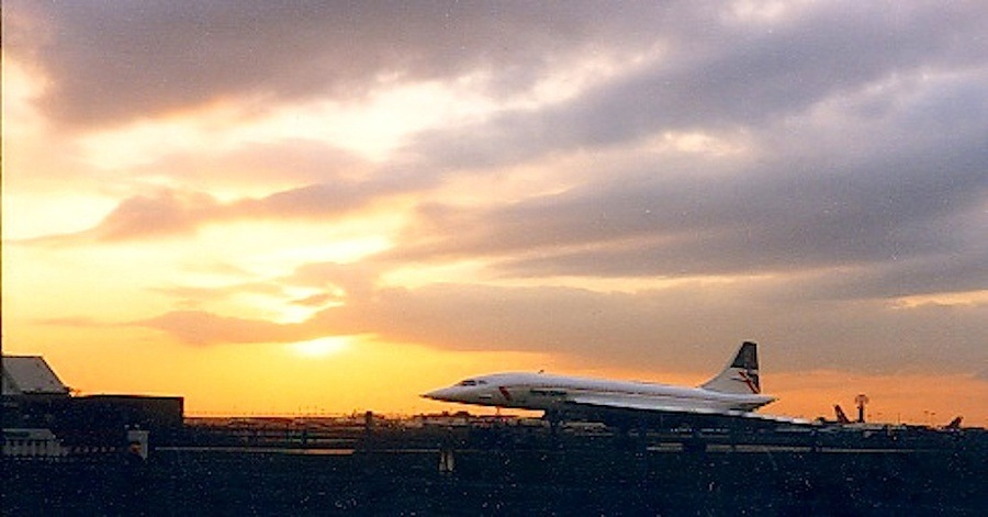 Concorde  LHR. UK. by John Cater
