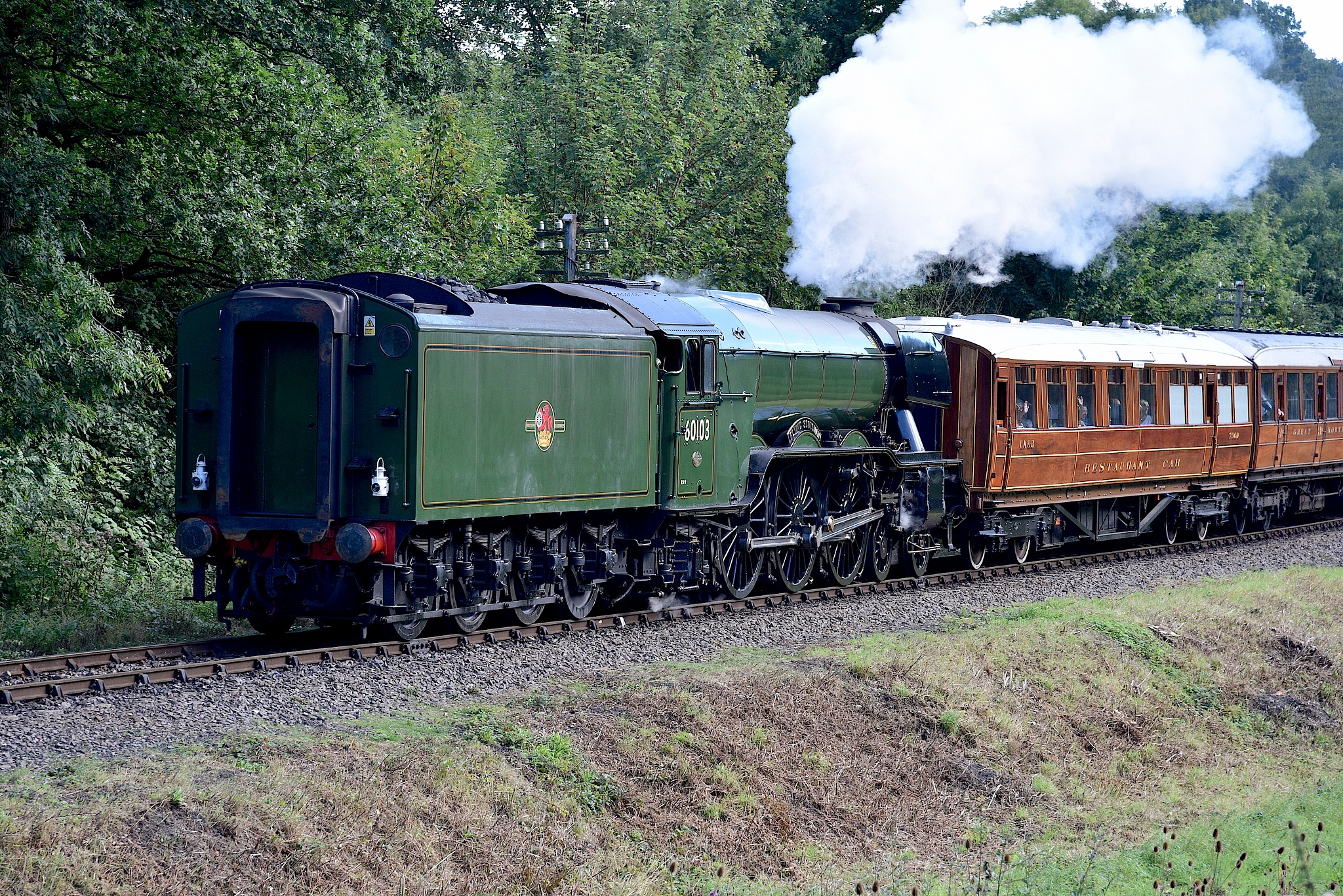 Flying Scotsman. View in Wide Screen. by John Cater