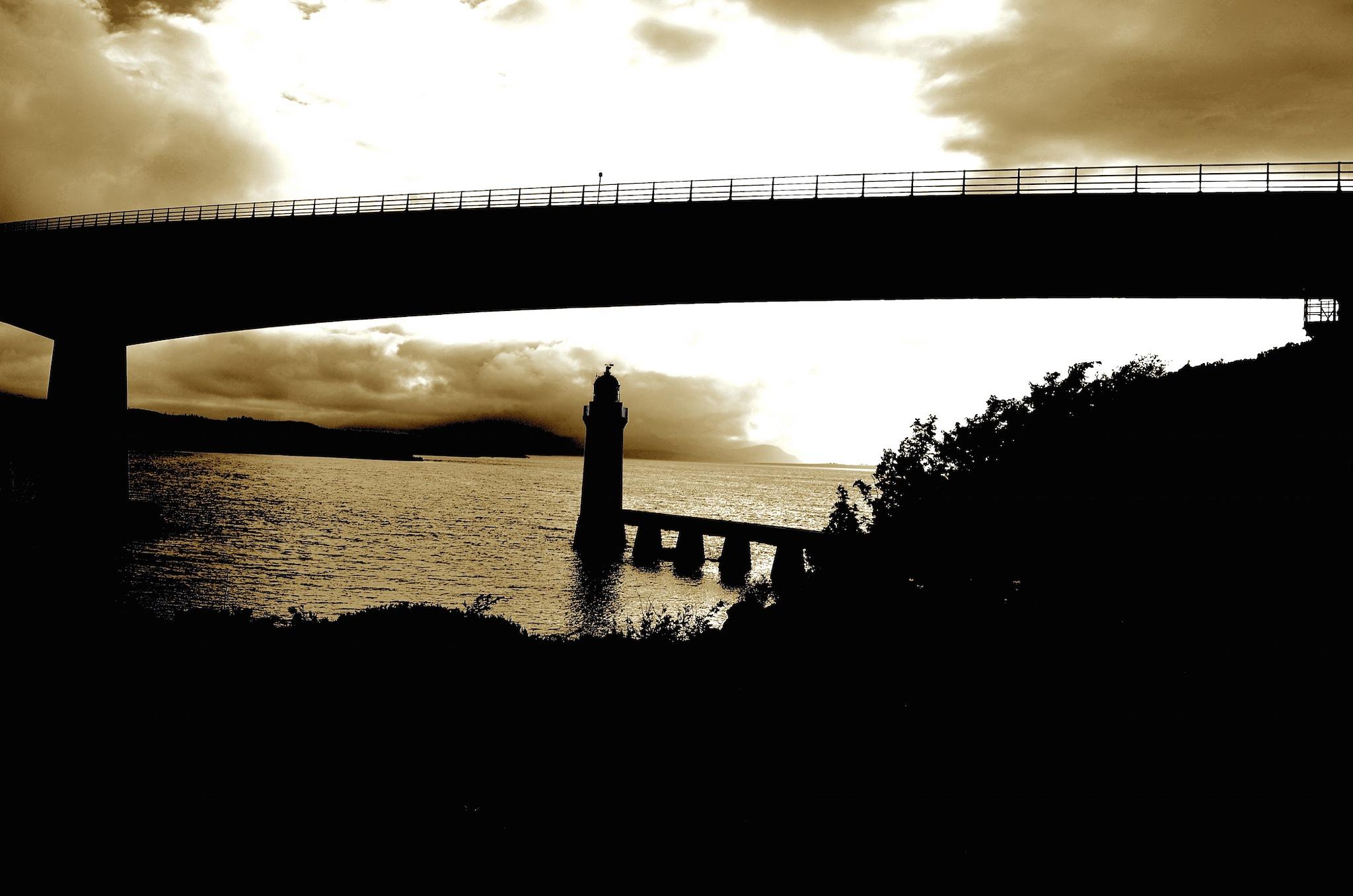 Isle of Skye Bridge. by John Cater