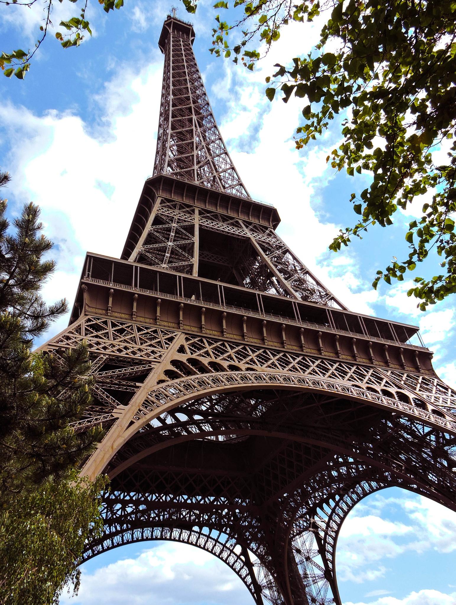 Postcard from Paris by Sayantan Roy