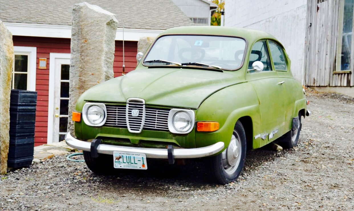 Old Saab by Tracey Colon