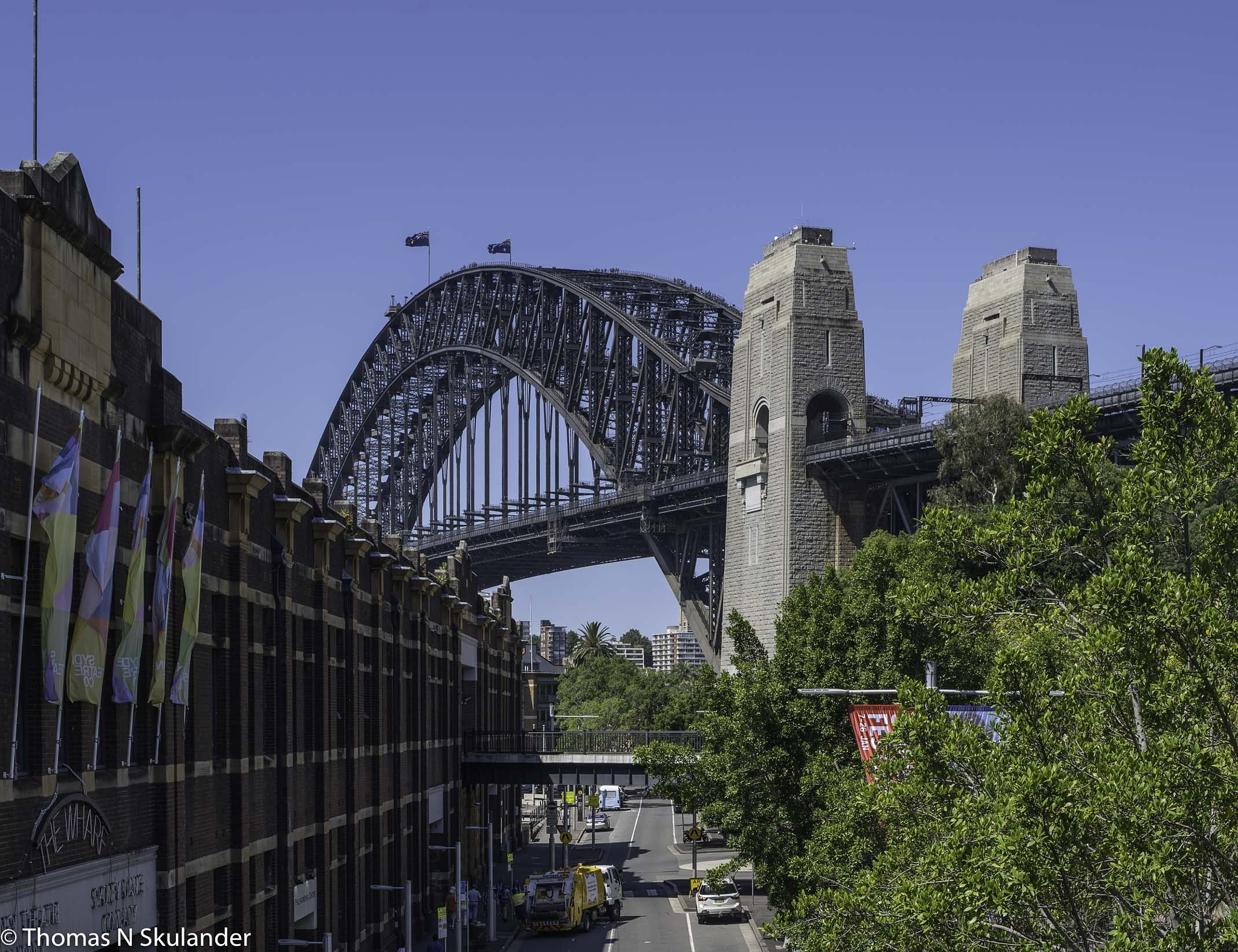 The Sydney Harbour Bridge by Thomas Skulander