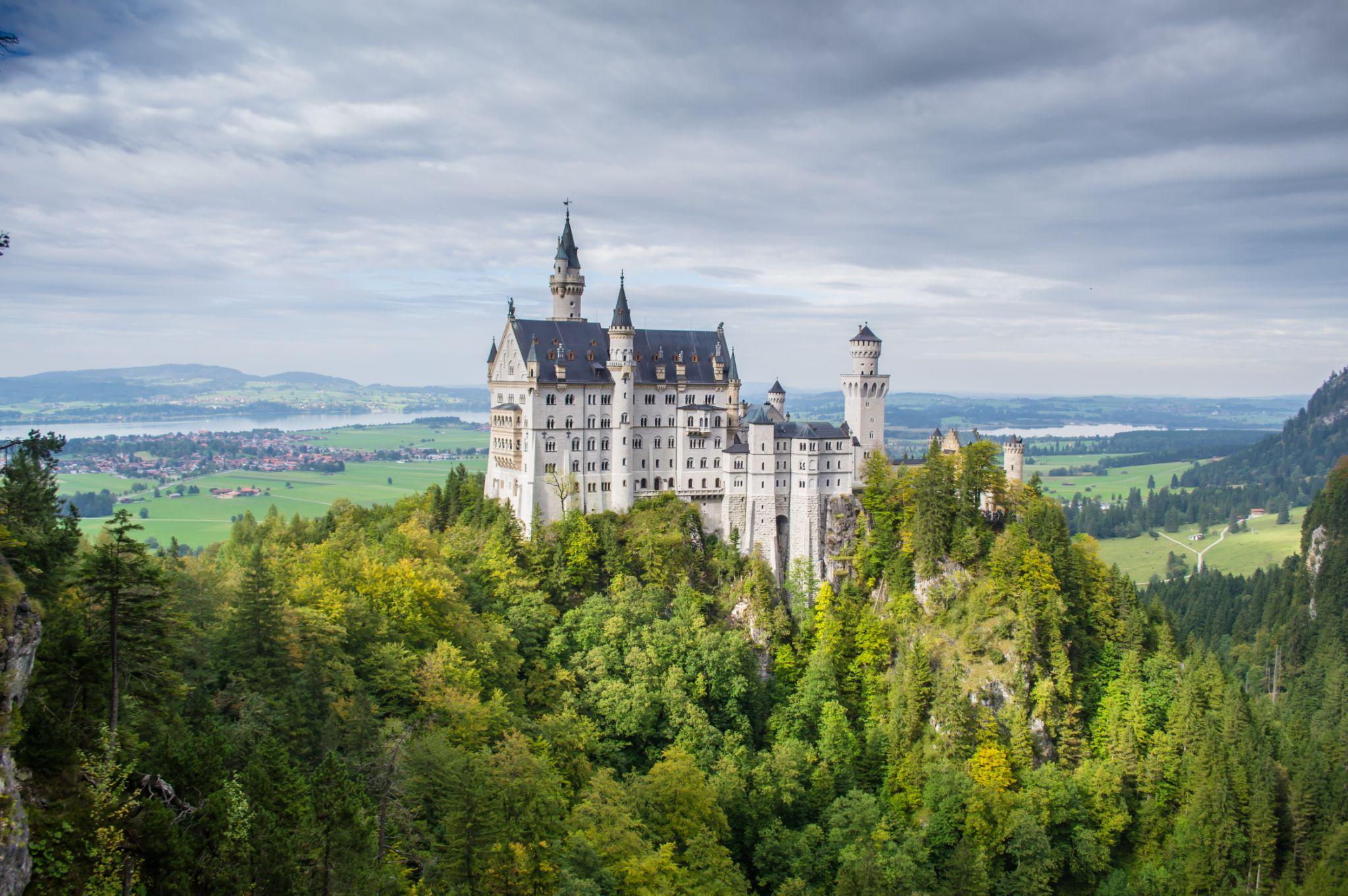 Neuschwanstein Castle, Bavaria by Adina C.