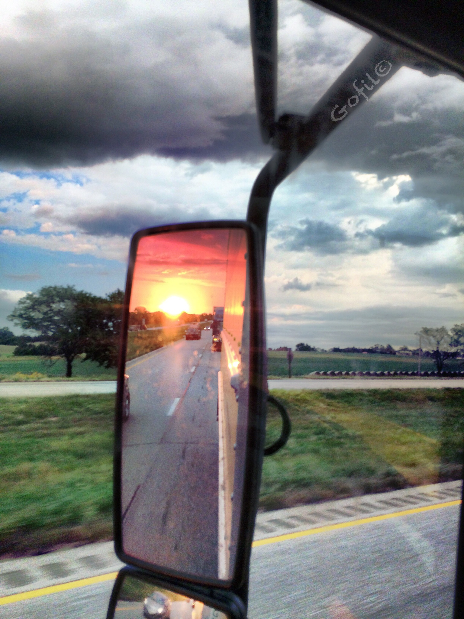 In the rear view by Gofil