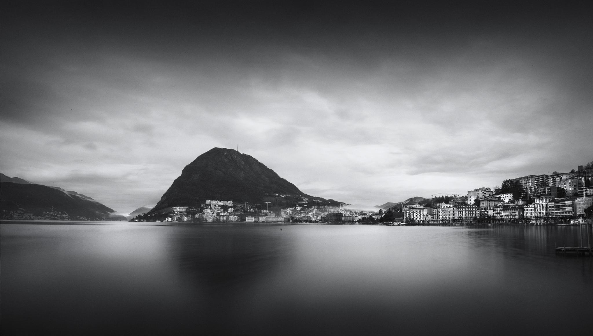 Lago di Lugano by farhado