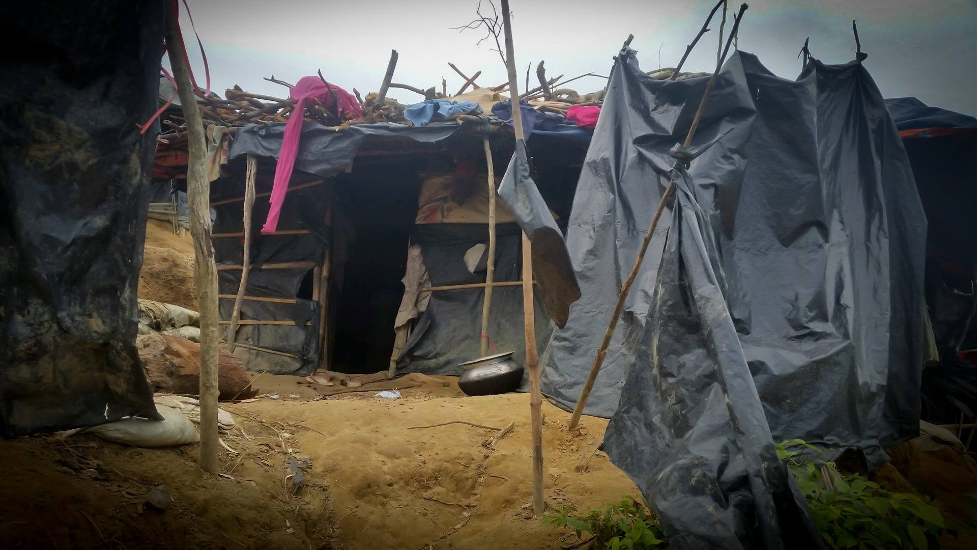 surviving in a refugee camp by Raisasabila