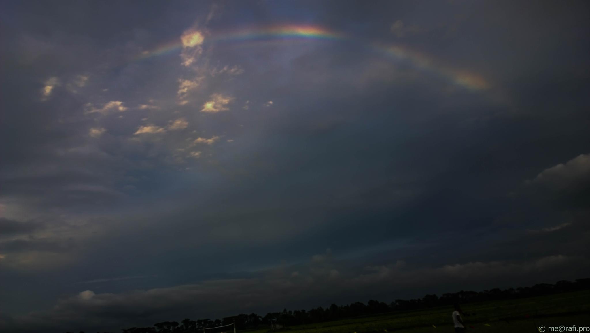 Rainbow & Sky by Faozul Azim Rafi