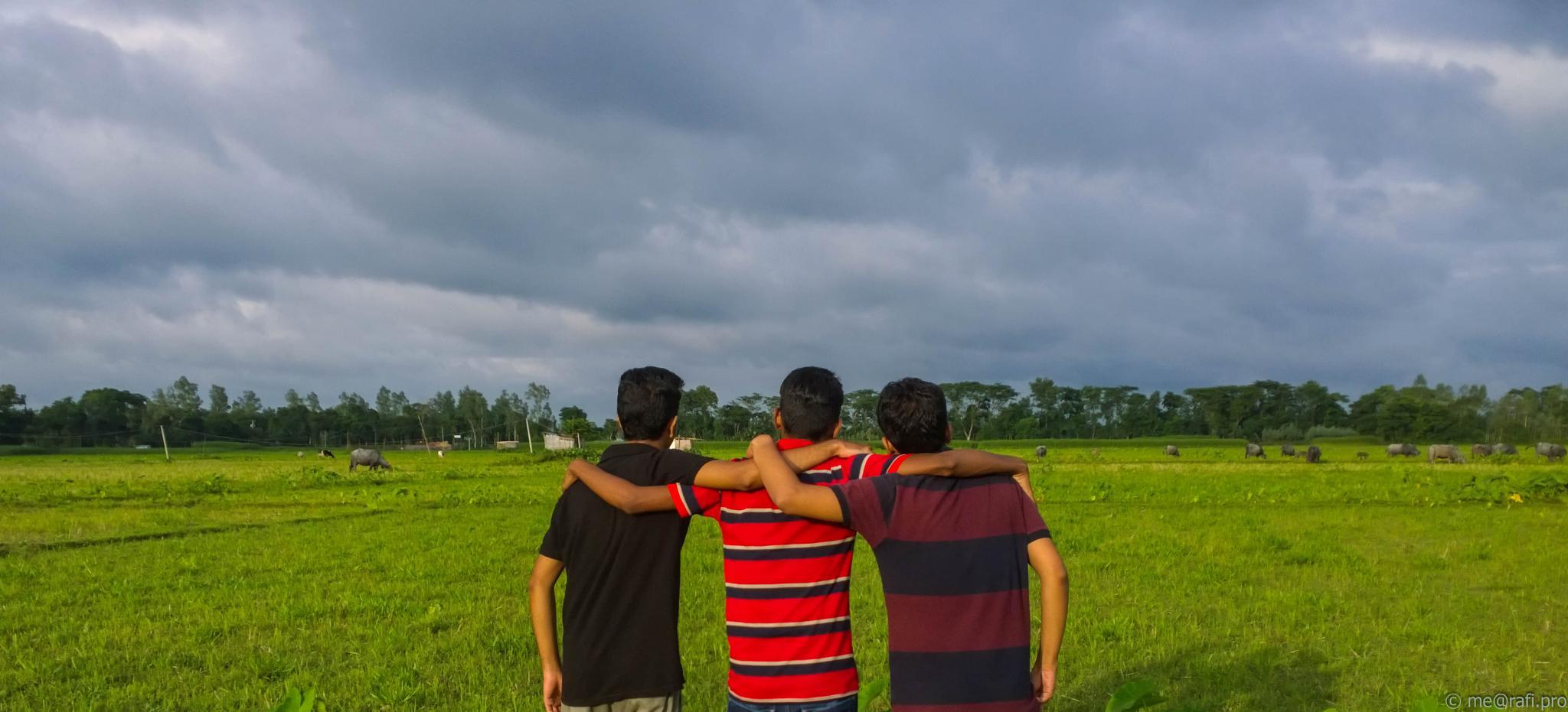 Cloudy Sky by Faozul Azim Rafi