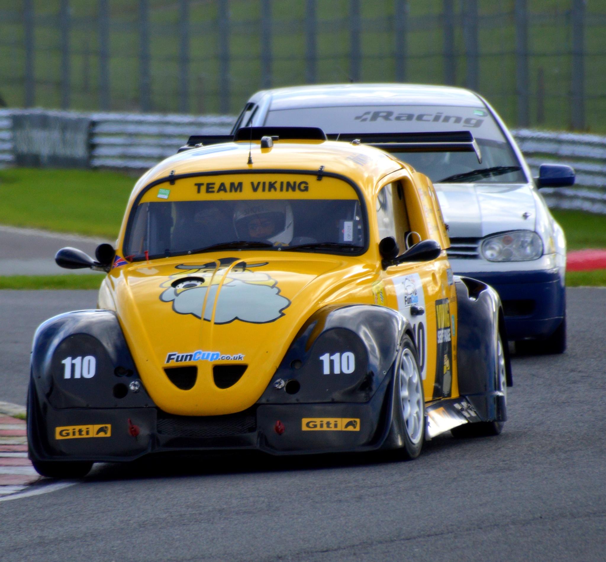 Racing VWs by Rob Davies