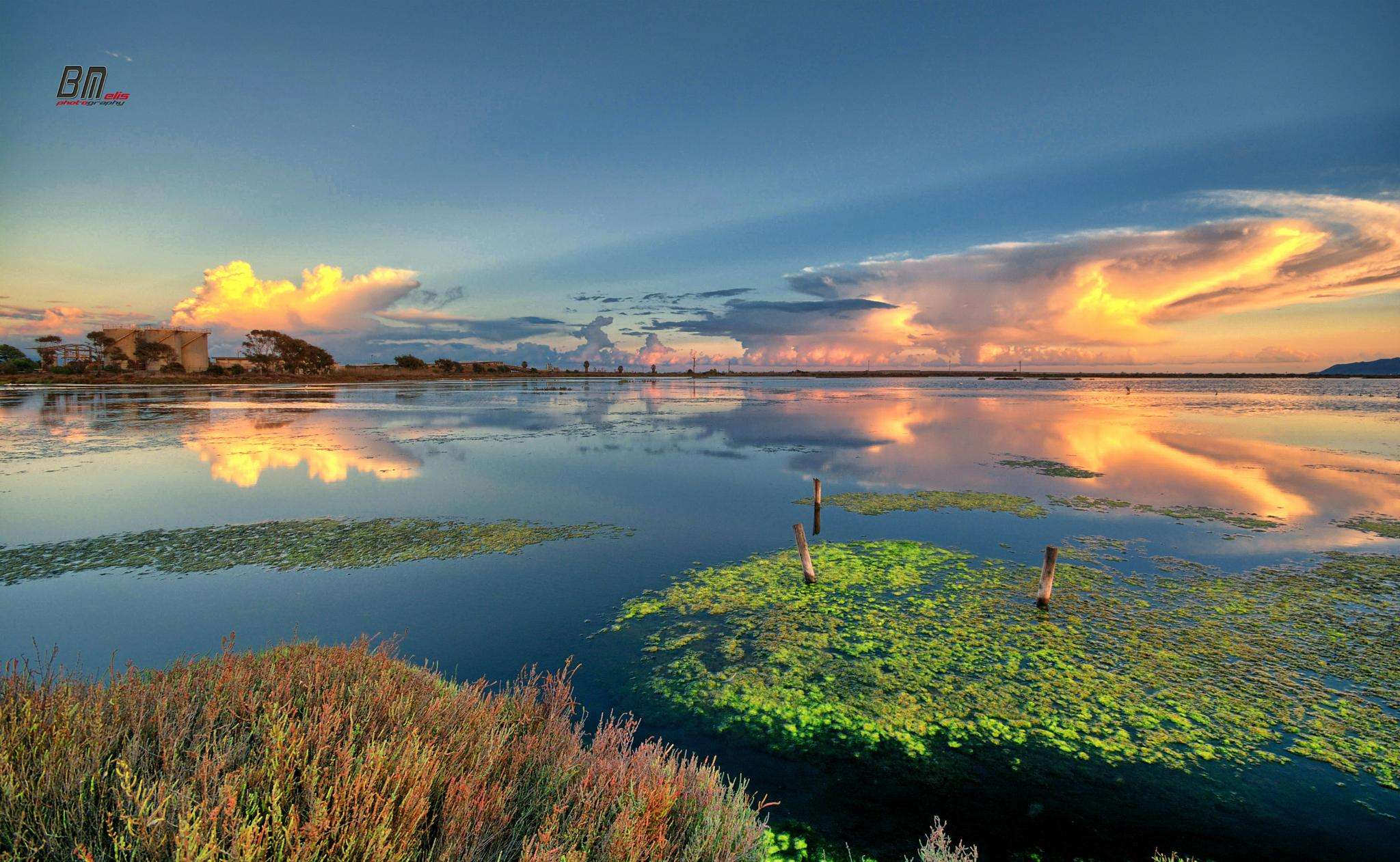 Photo in Landscape #laguna #capoterra #cagliari #santa gilla #sardinia #italy