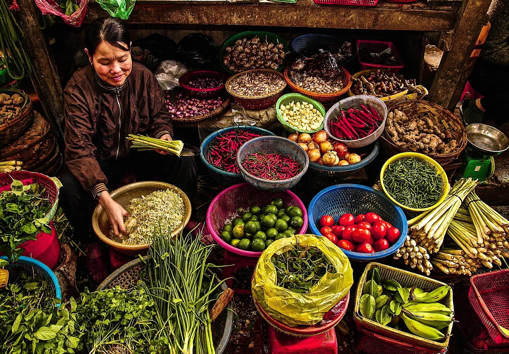 Healthy Options, Dalat, Vietnam by JohnMilligan