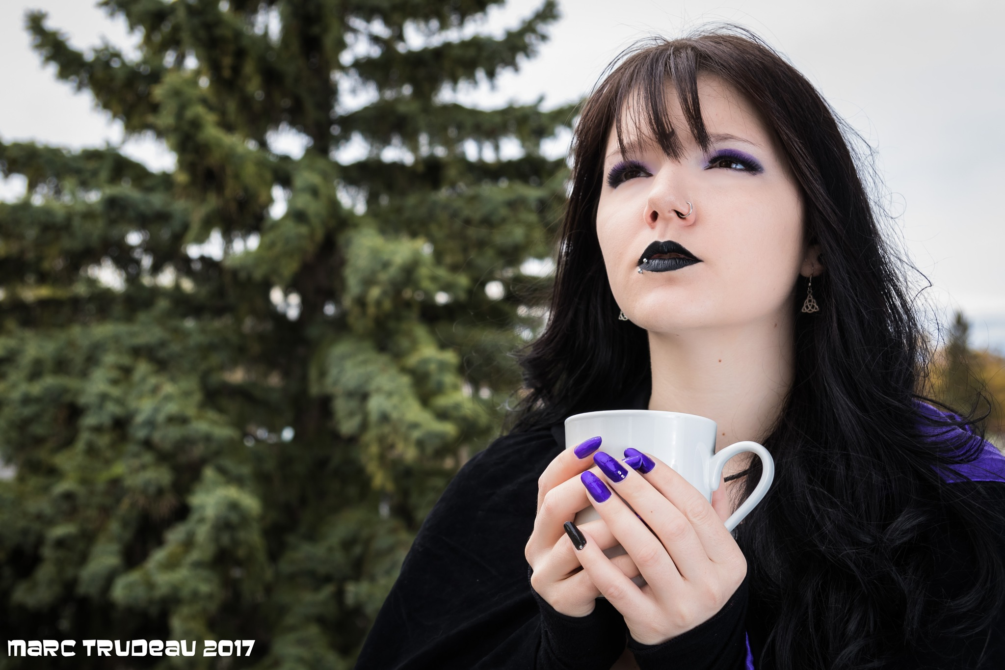 Gothic Princess Scenario 2 : Le Café Matinal by Marc Trudeau