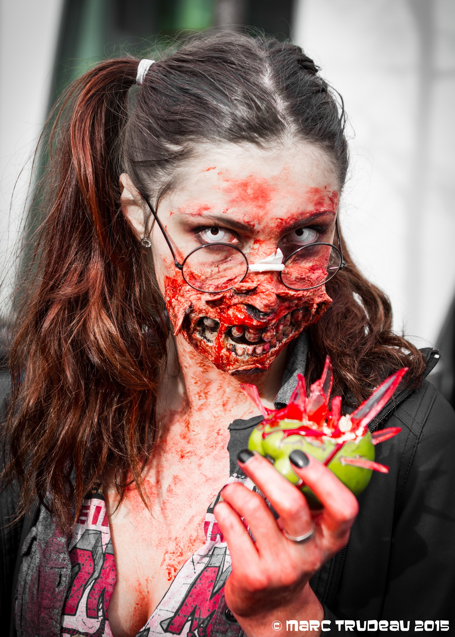 An Apple a day make Zombie go away ? by Marc Trudeau