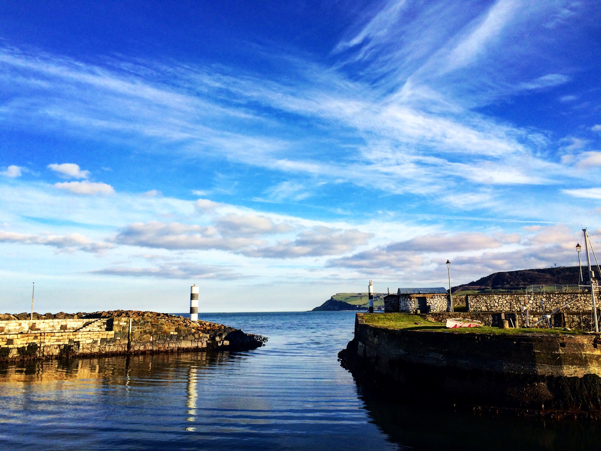 Carnlough Harbour by Delvna Cunning