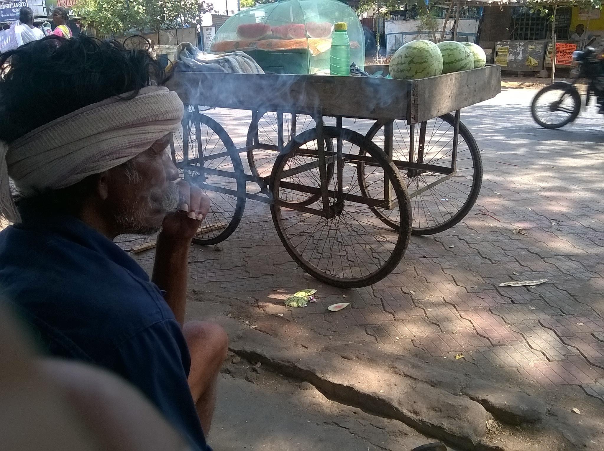 SMOKING PLEASURE ! by PALANICHAMY