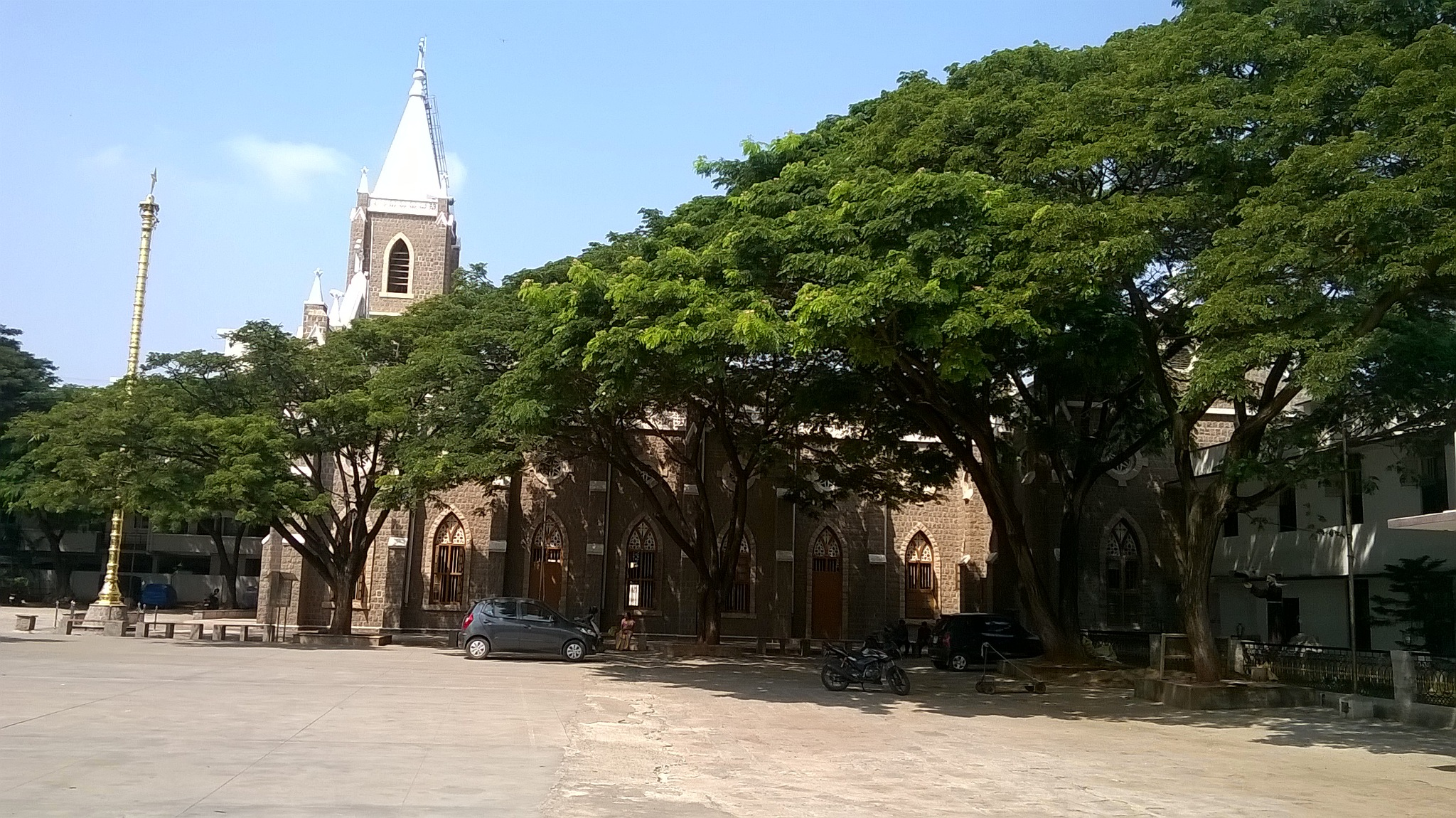 CHURCH - COIMBATORE by PALANICHAMY