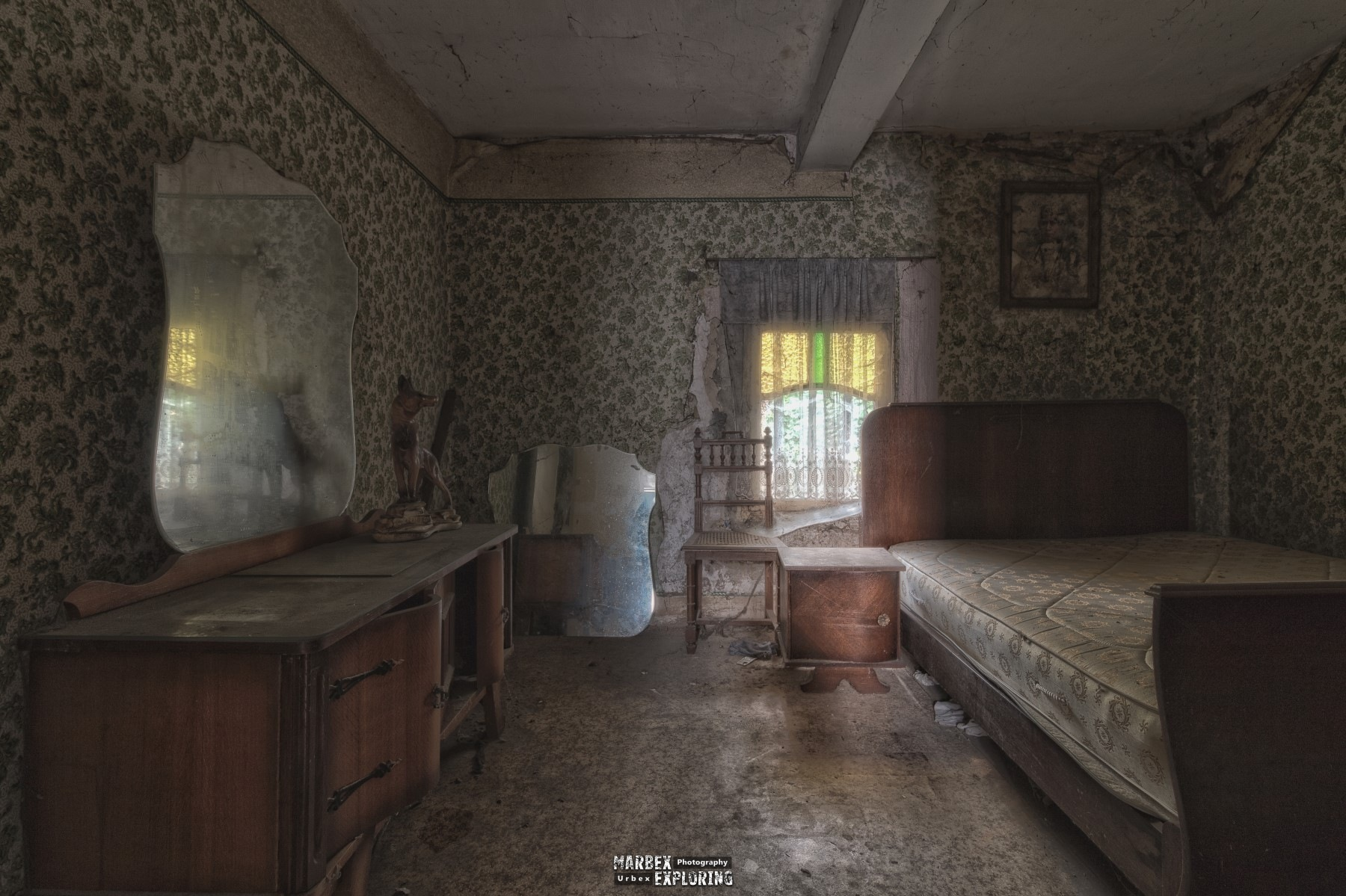 Step into my sleeping room and enjoy the reflections by  Marjan Polley Photography