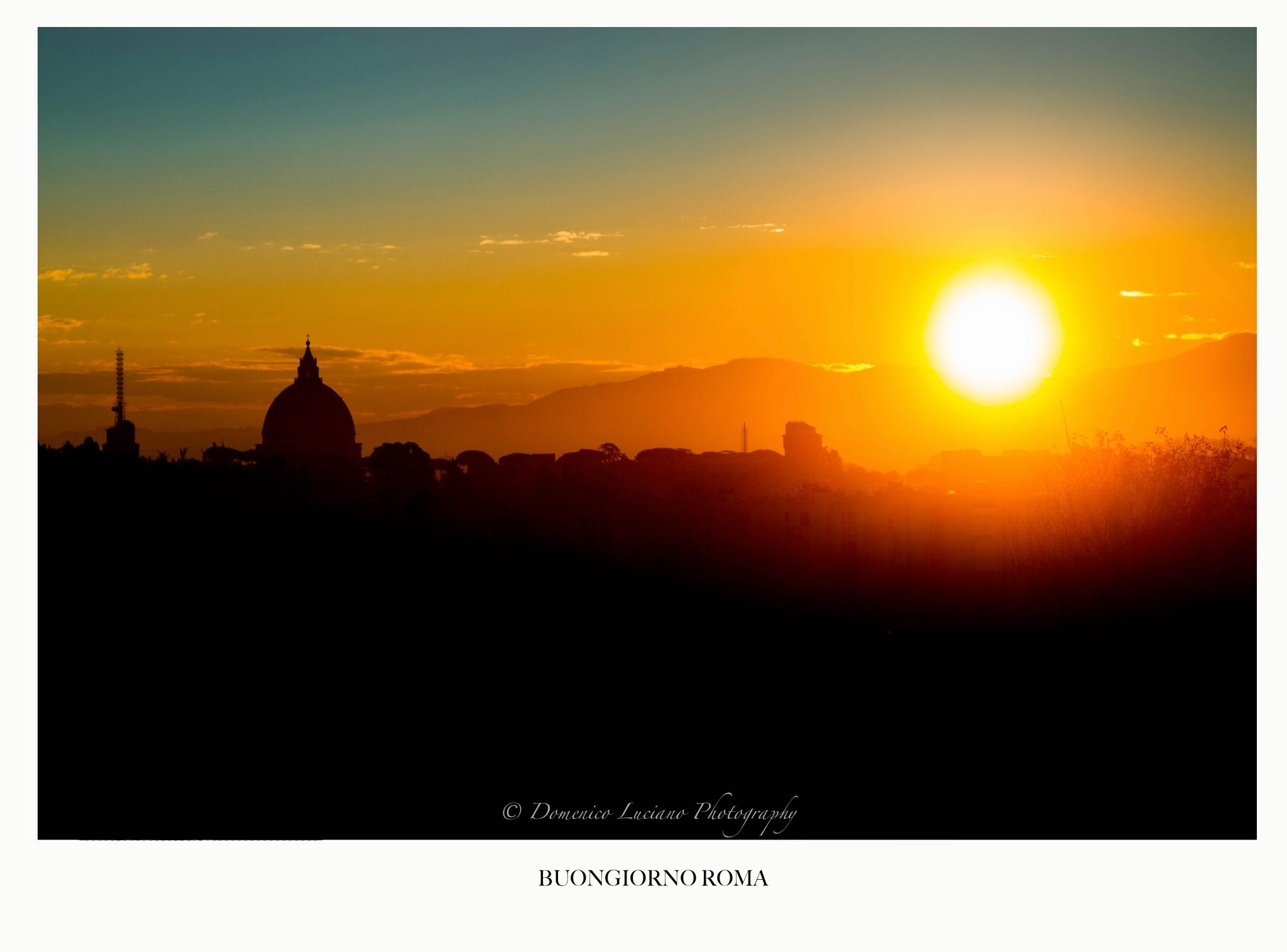 Buongiorno Roma by Domenico Luciano Photography