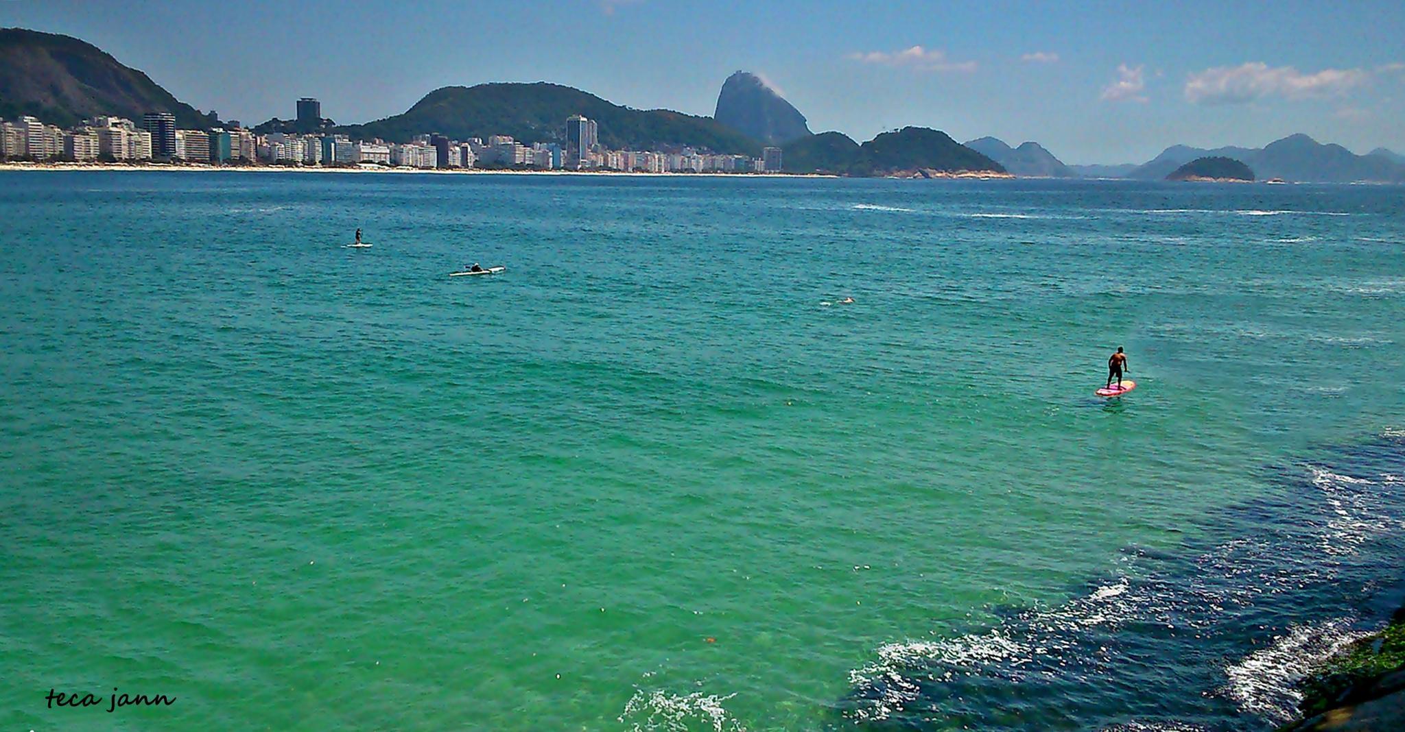 Praia de Copacabana by tecajanone