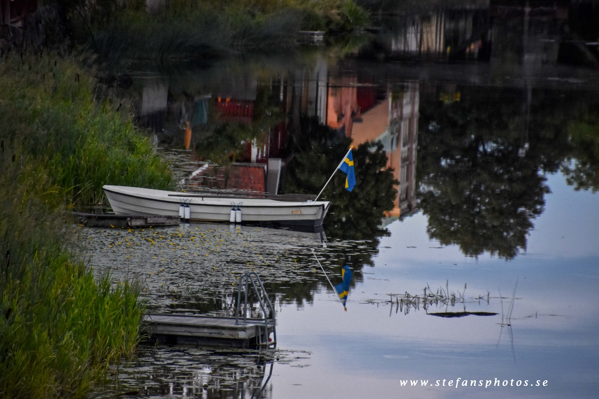 Summer at Arbogaån by stefan pettersson