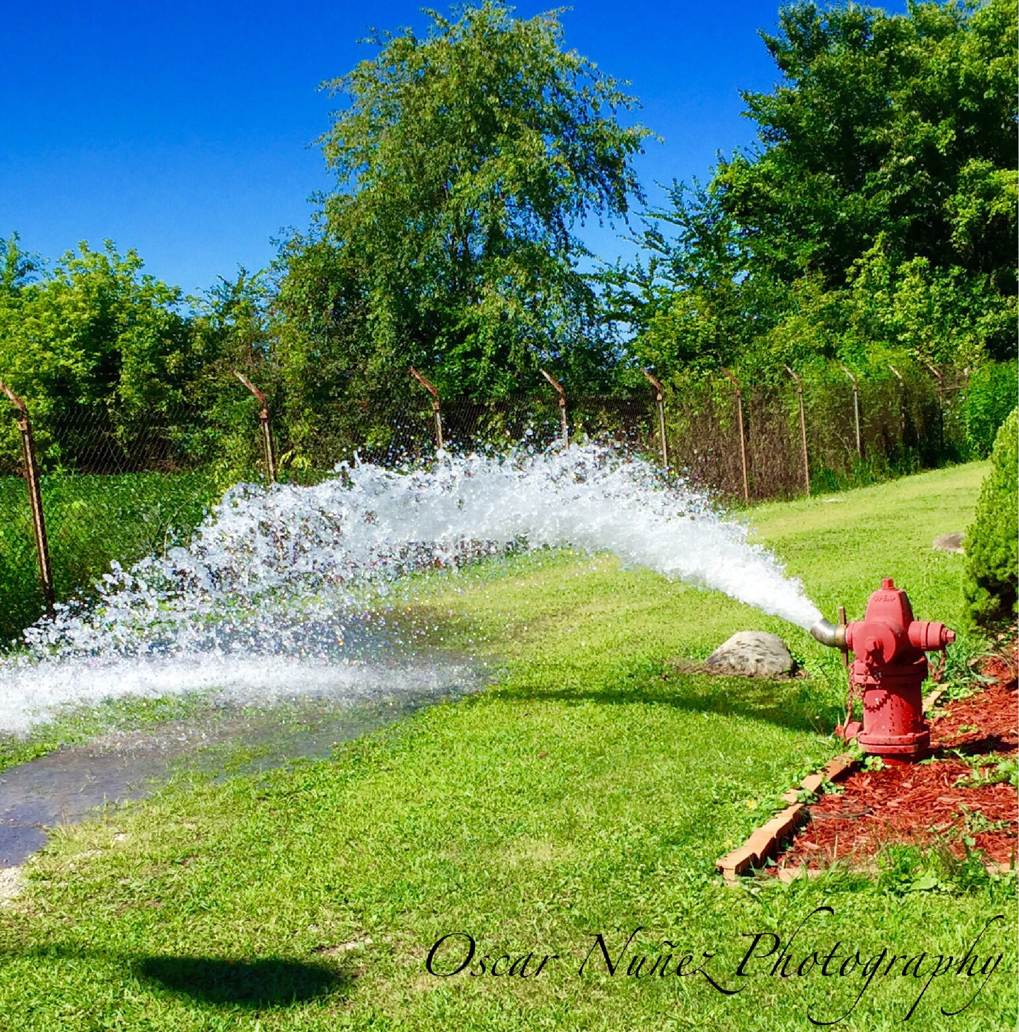 Water works! by Oscar Nuñez