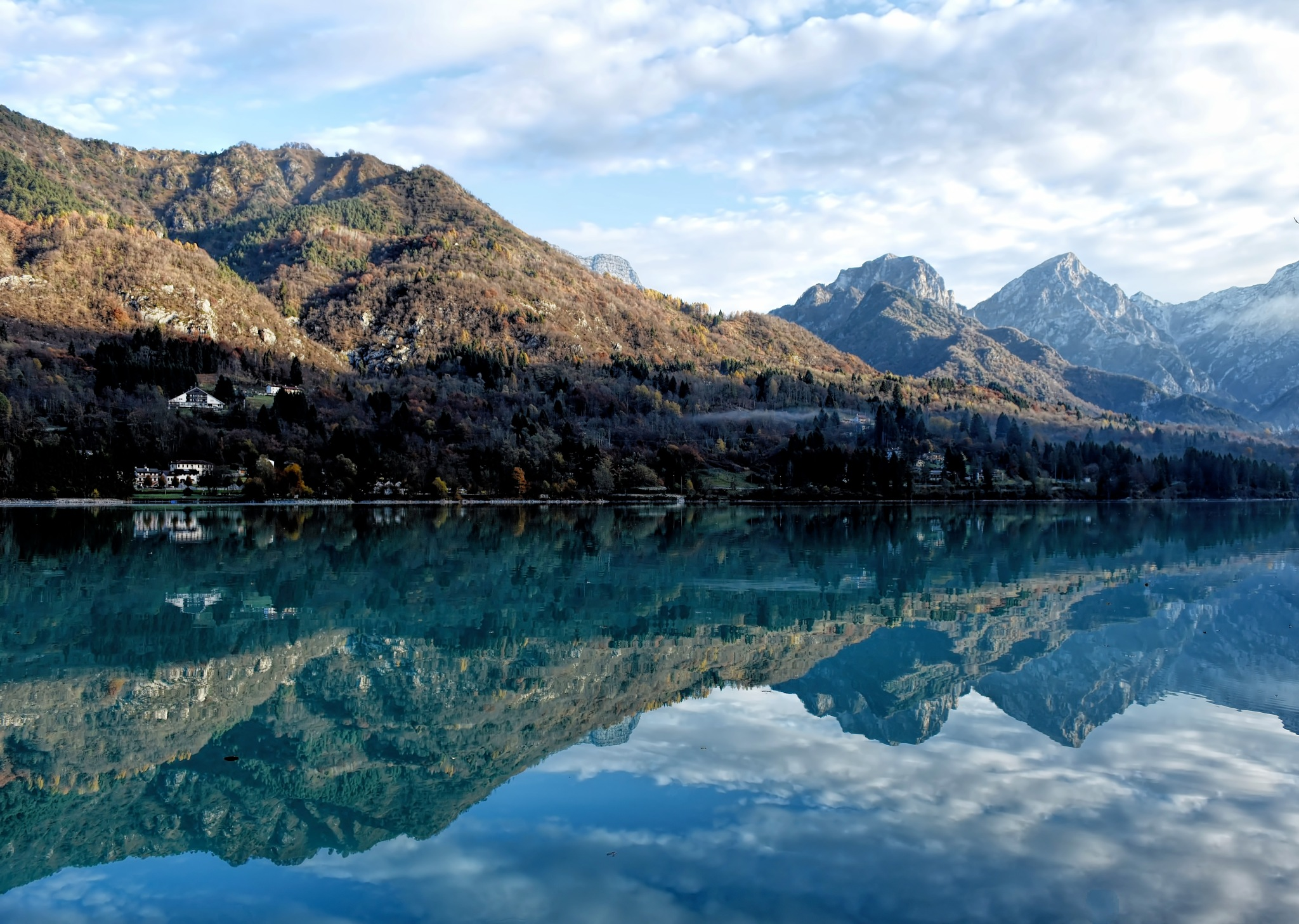 Mountain Reflections by Mirto