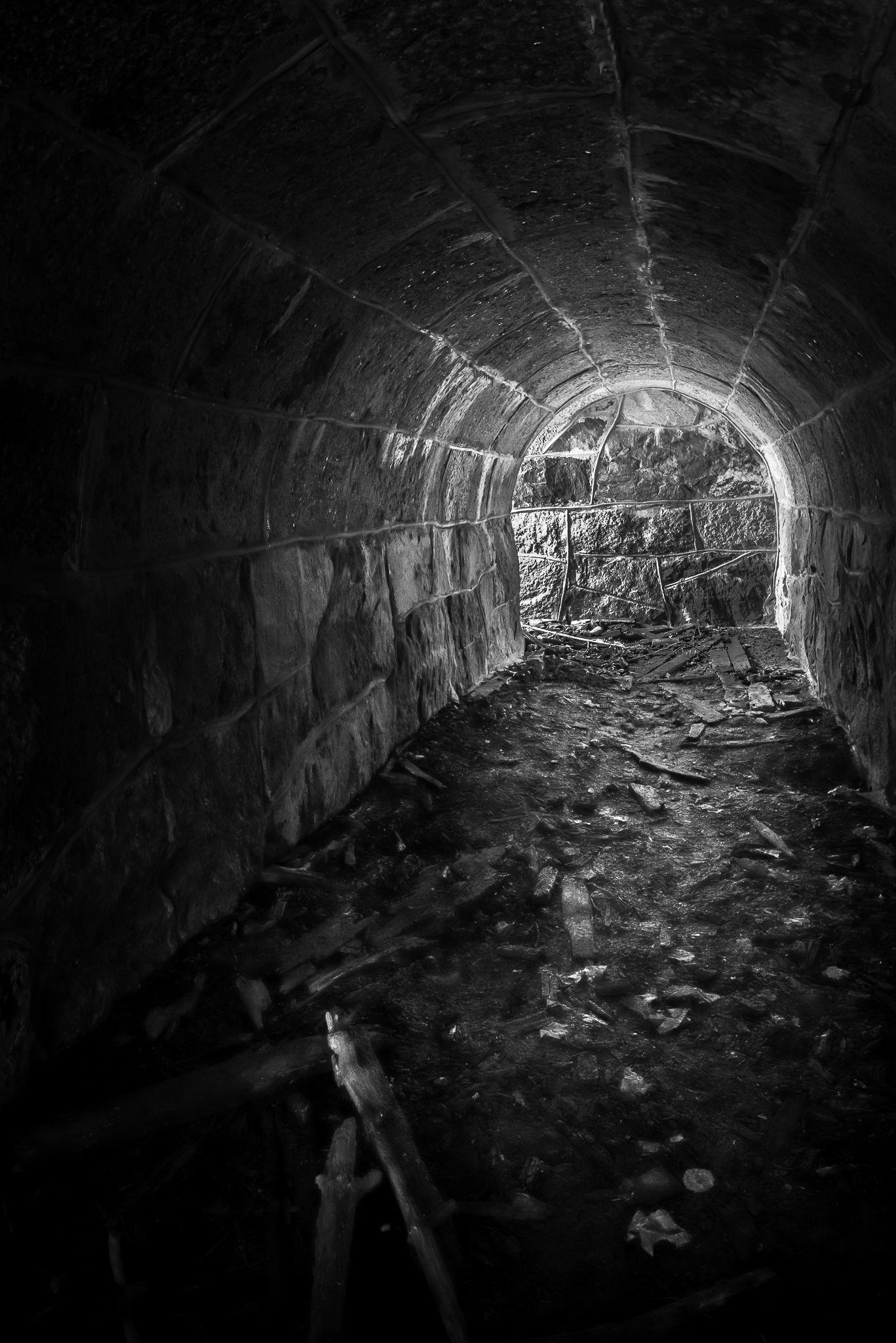 Old tunnel by Juha Kauppila