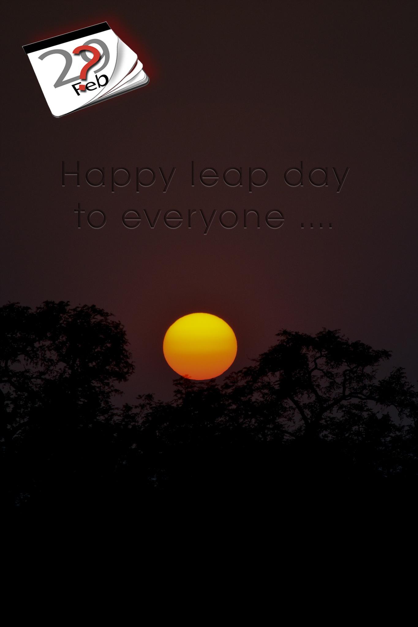 Happy leap day ☺ by Alexander Molnár