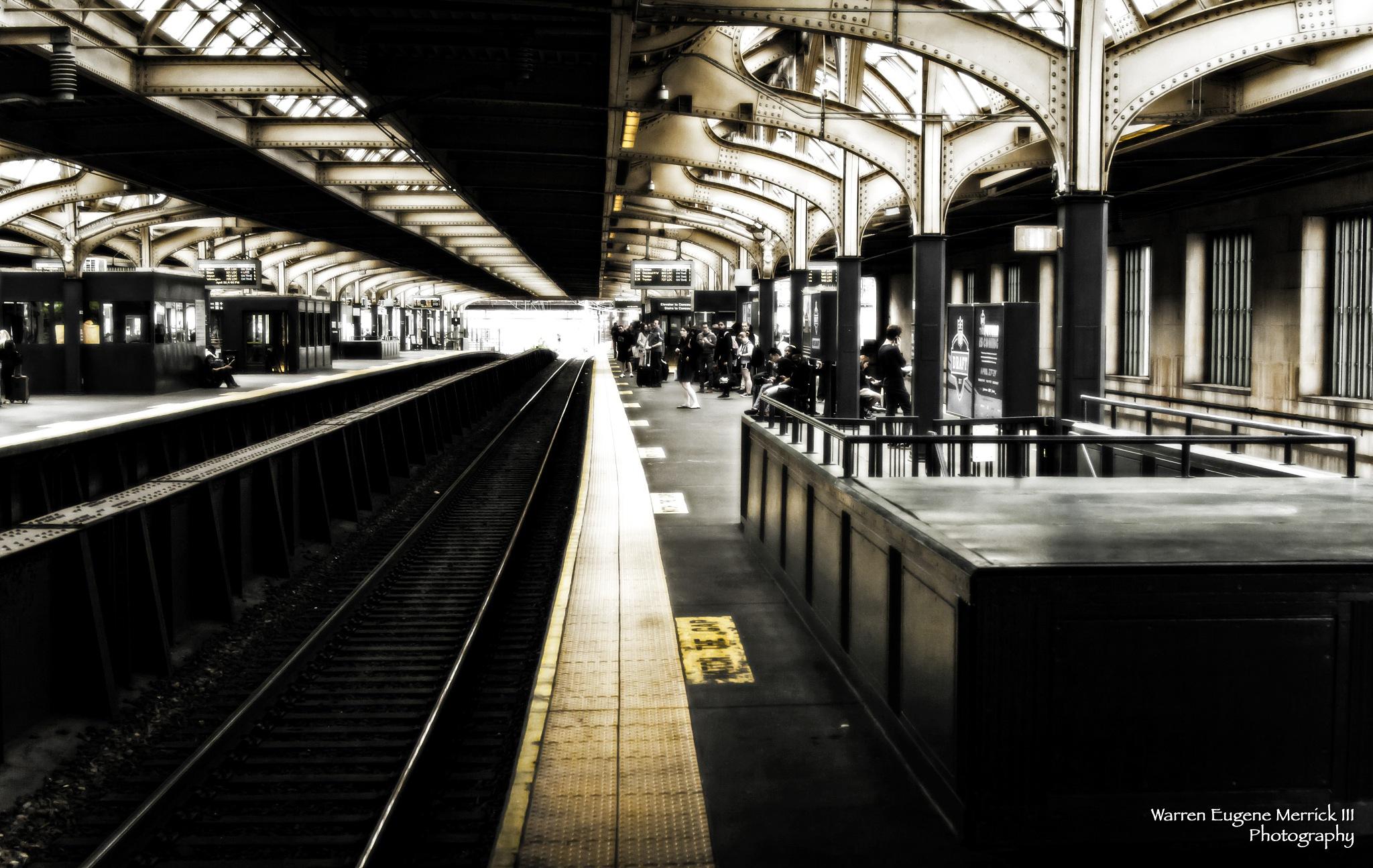 30th Street Station Platform  by WarrenEugeneMerrickIII