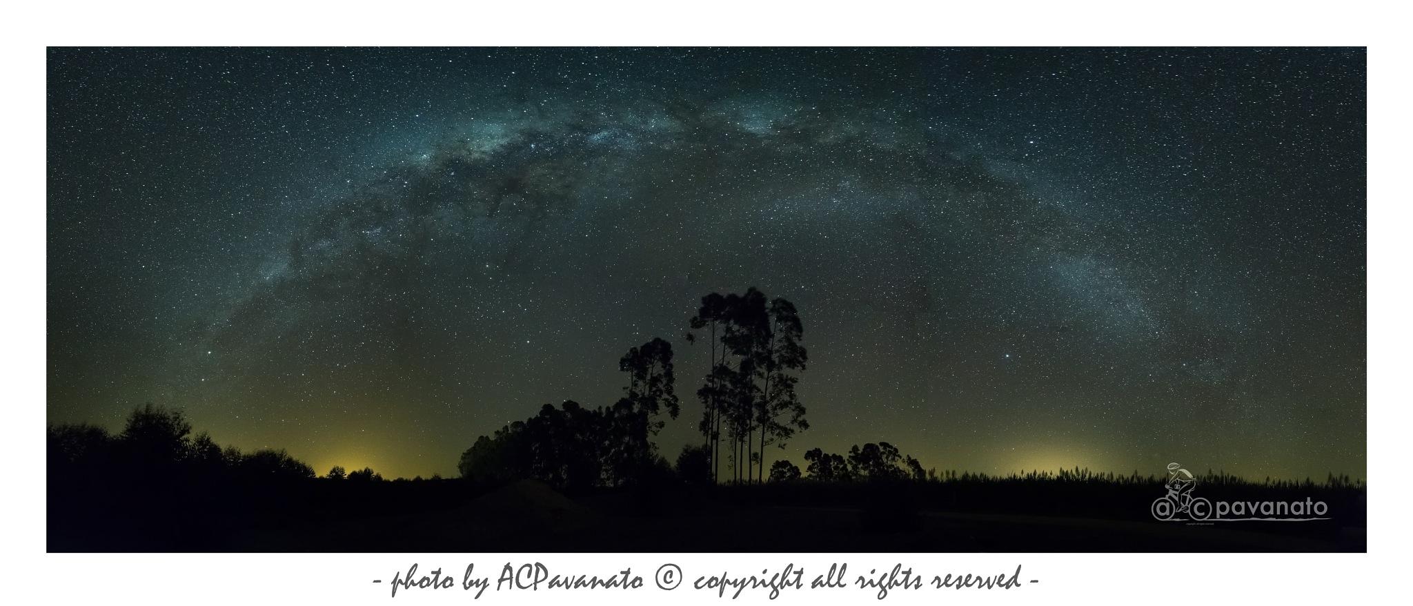 Milky way by ACPavanato