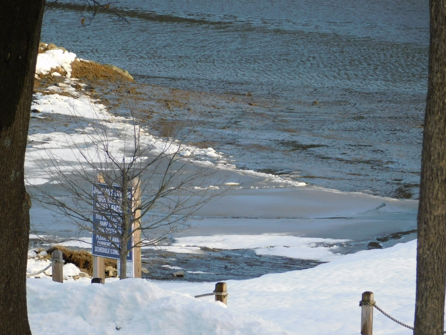 The River Trimmed in Snow by Stacey J. Cunningham