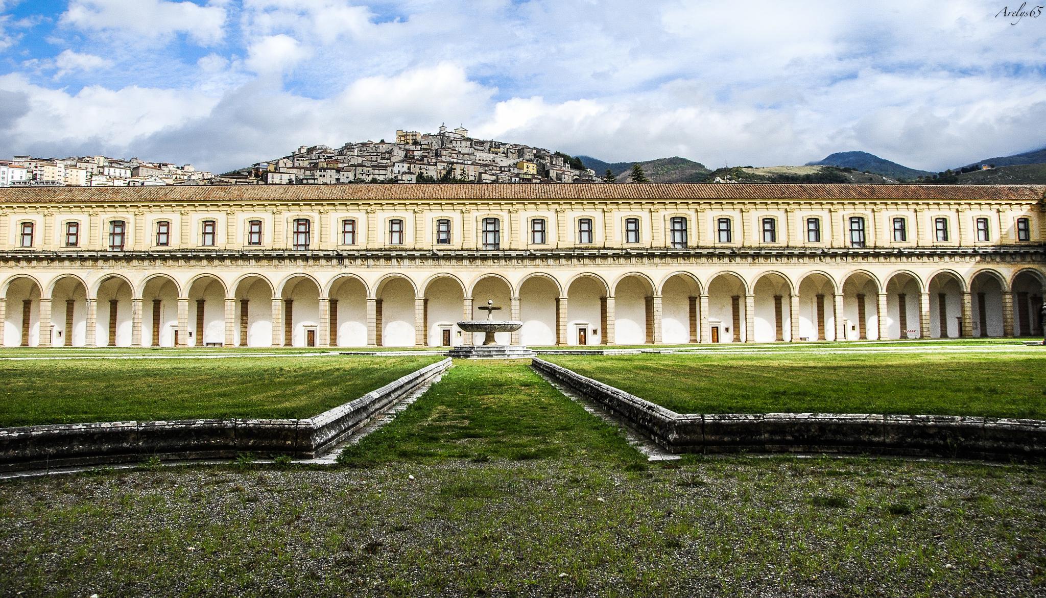 Certosa di Padula by Arelys