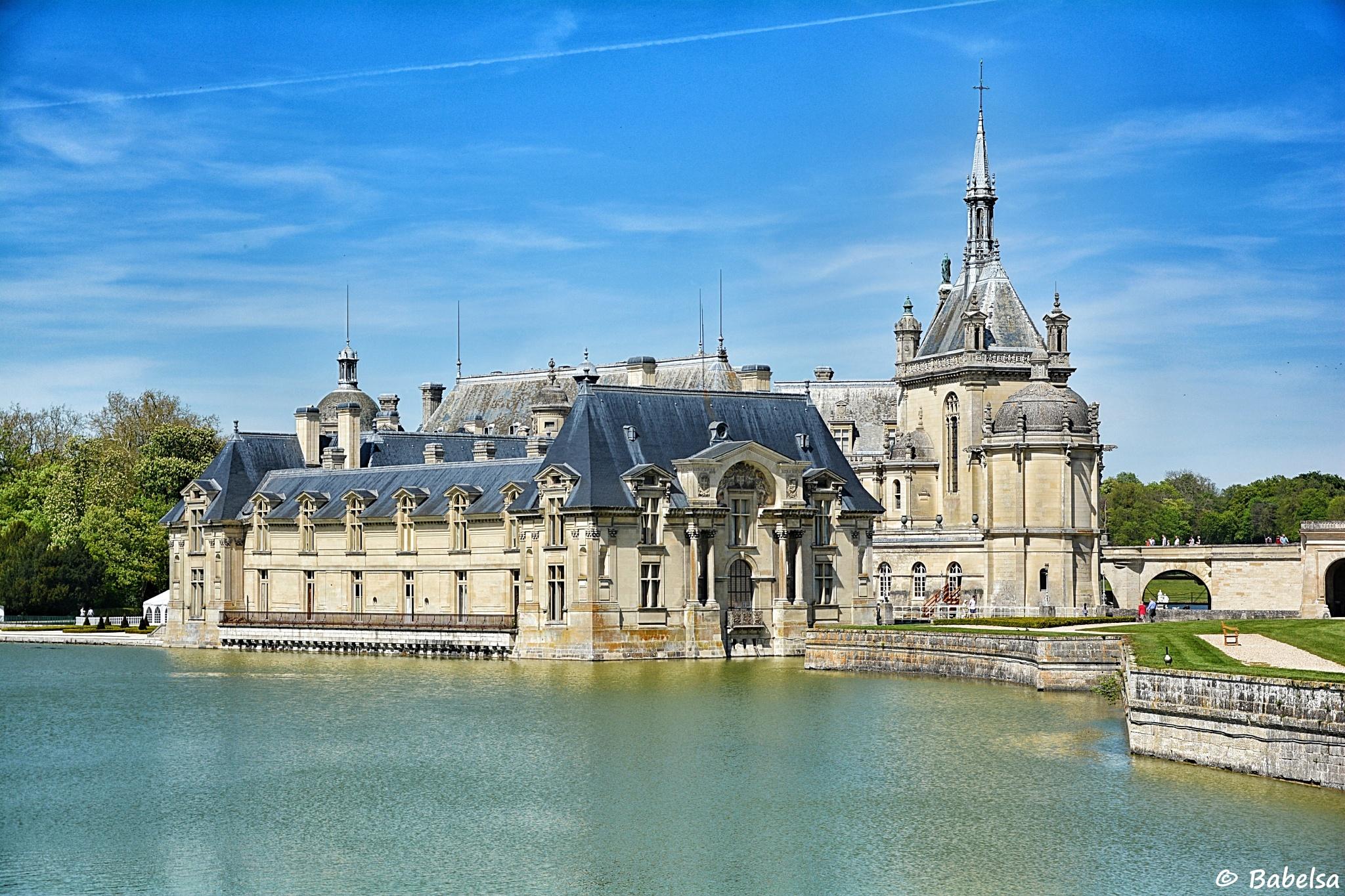 Photo in Architecture #oise #château de chantilly #vallée de la nonette #rivière #château #babelsa