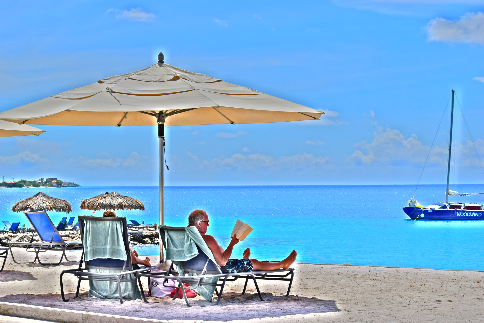 Relaxing in the Sun (Bonaire) by KMcCord