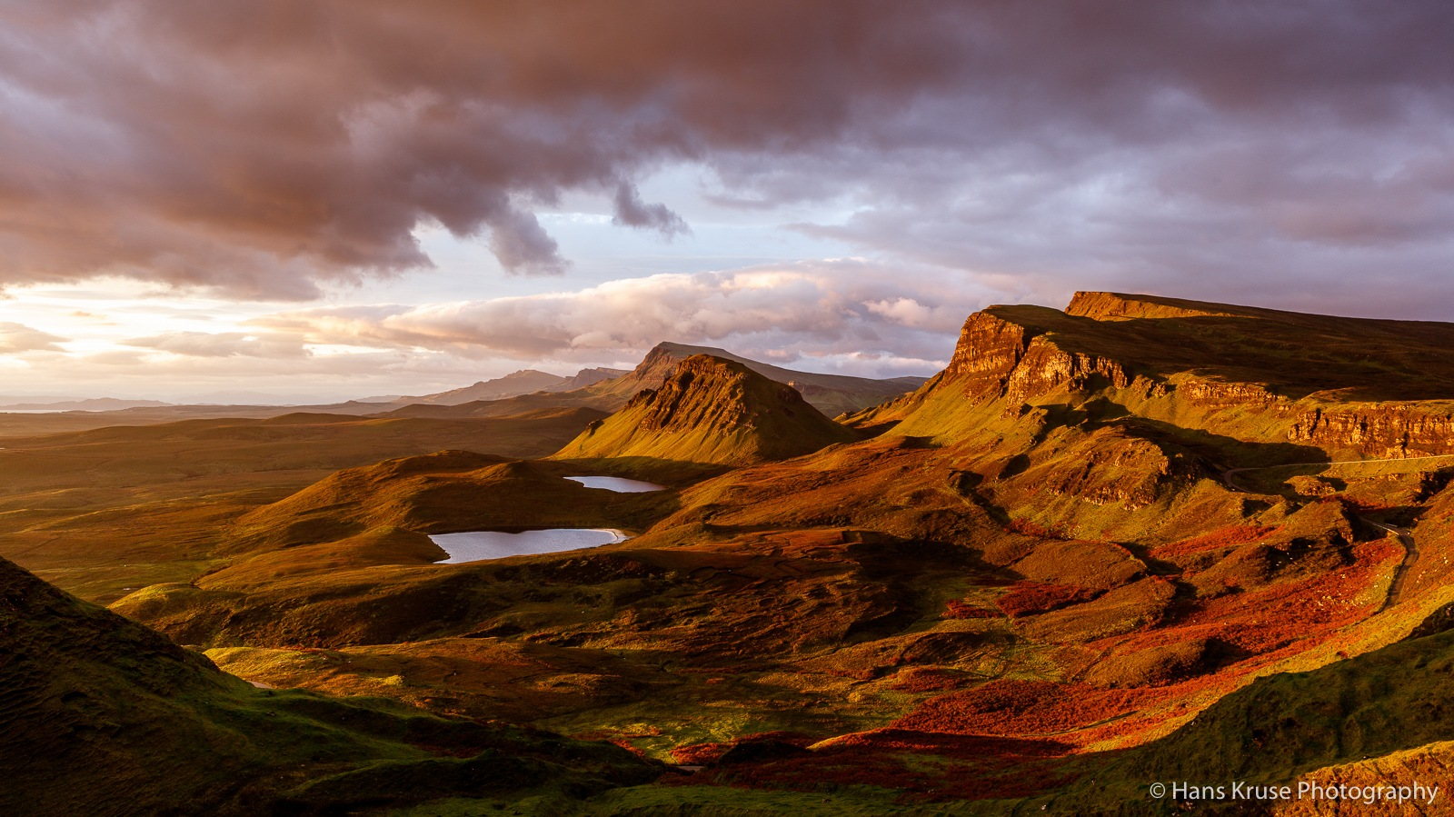 The Quiraing in morning light  by Hans Kruse