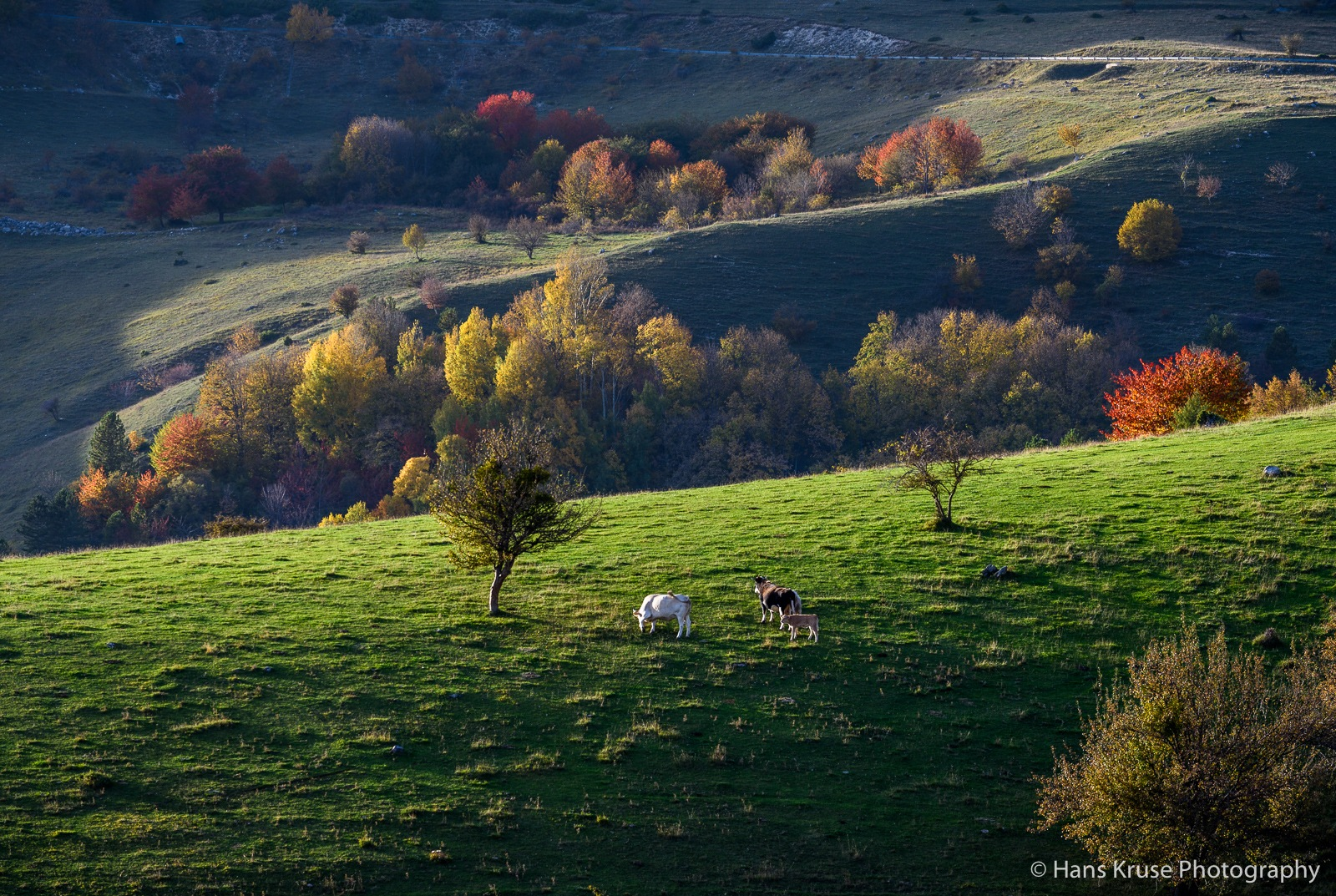 Autumn colours in Abruzzo by Hans Kruse