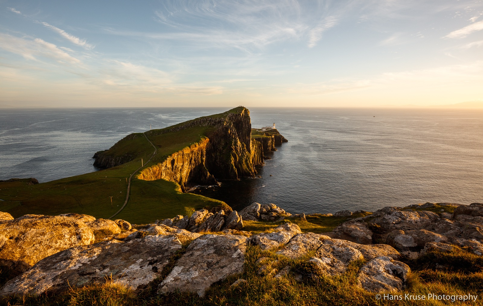 Neist Point at sunset by Hans Kruse