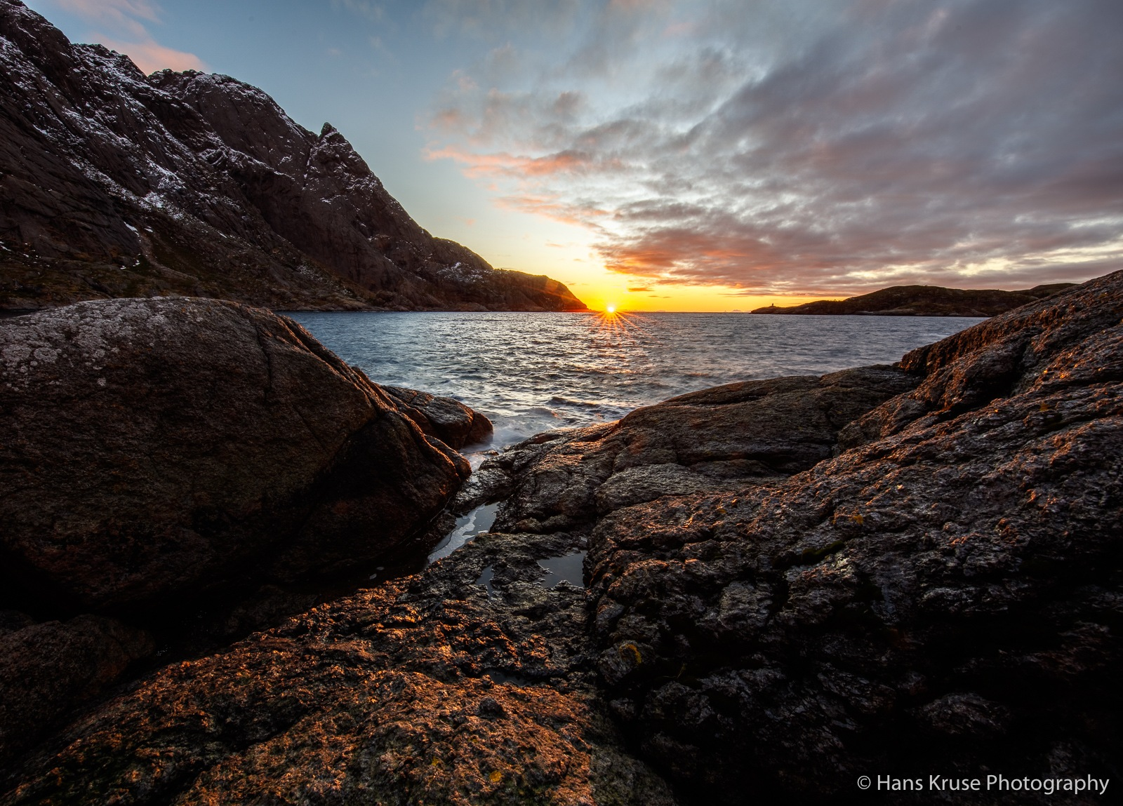 Morning at the sea by Hans Kruse